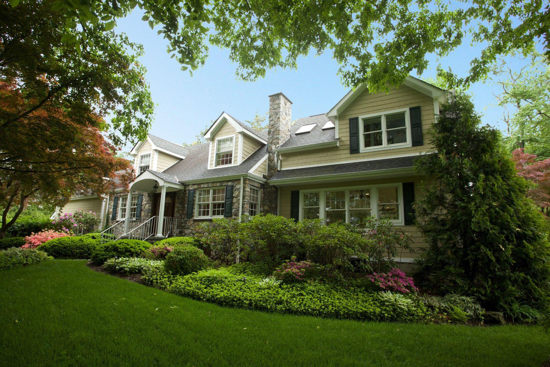 Частный односемейный дом для того Продажа на On Zabriski Pond 416 Highland Avenue Wyckoff, 07481 Соединенные Штаты