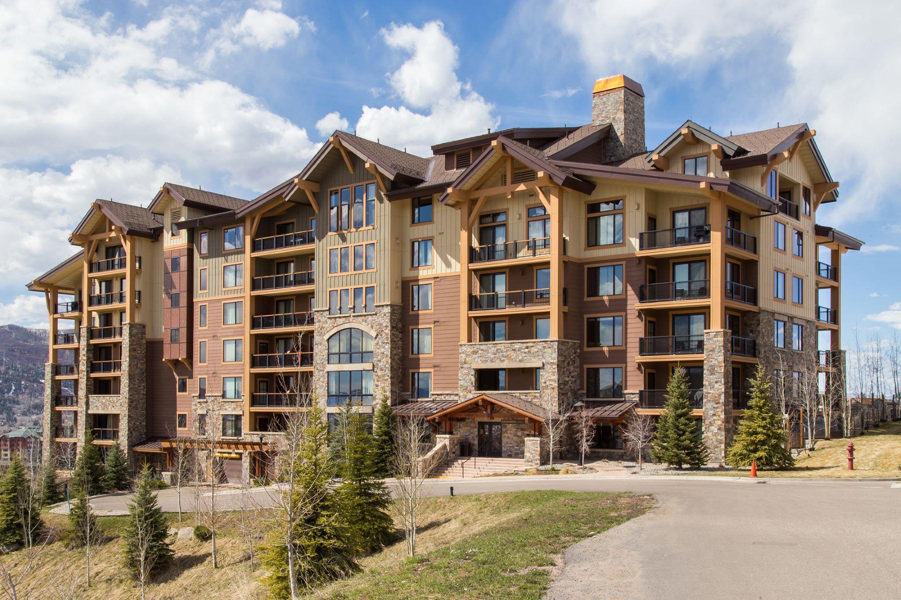 Condominium for Sale at Ski-in/Ski-out Edgemont 2410 Ski Trail Lane, #2506 Steamboat Springs, Colorado 80487 United States