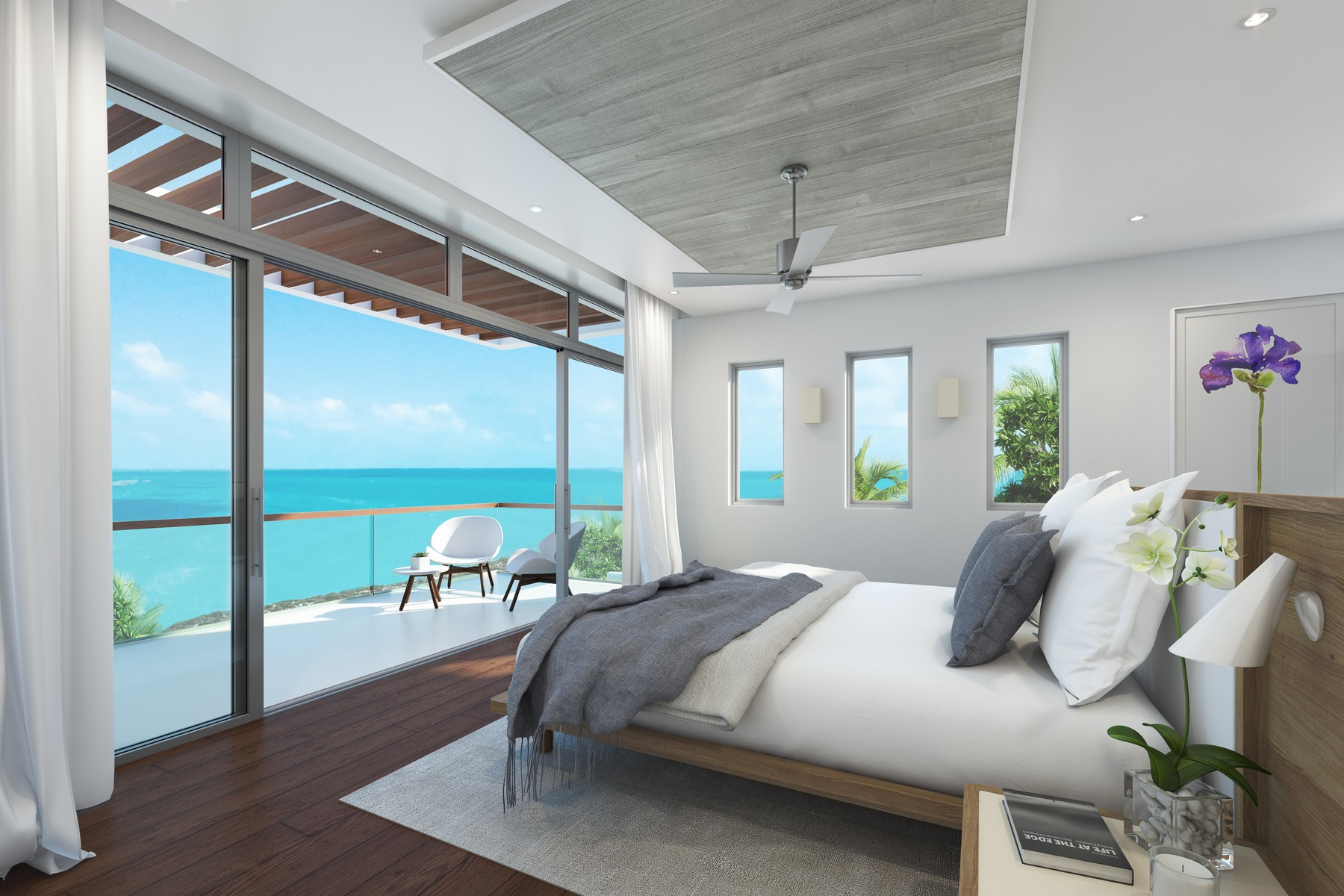 Additional photo for property listing at Gansevoort Villa - 4 Bedroom Design Waterfront Turtle Tail, Providenciales TCI Islas Turcas Y Caicos