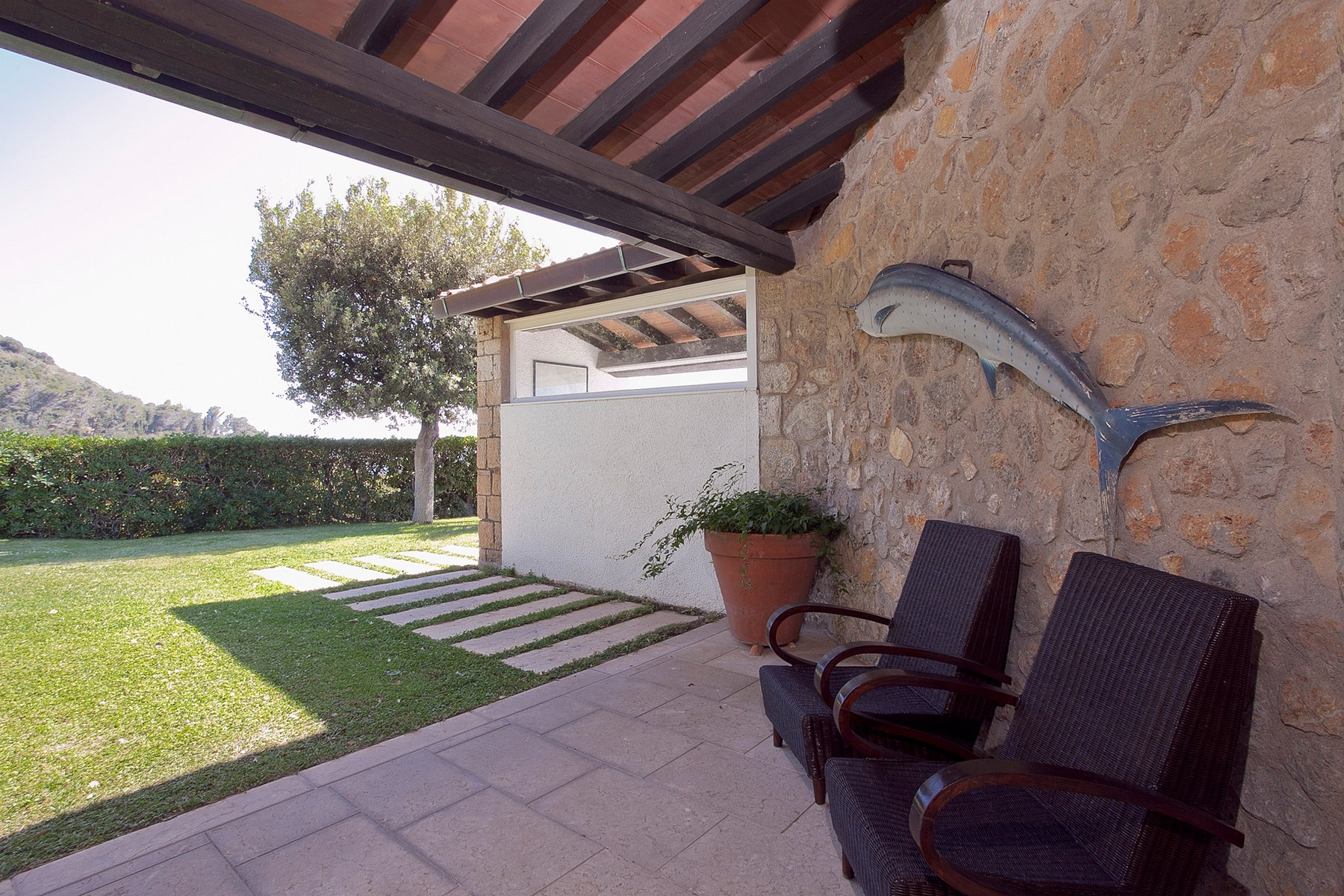 Additional photo for property listing at Splendid Villa on Monte Argentario Cala Piccola Di Monte Argentario Grosseto, Grosseto 58019 Italien