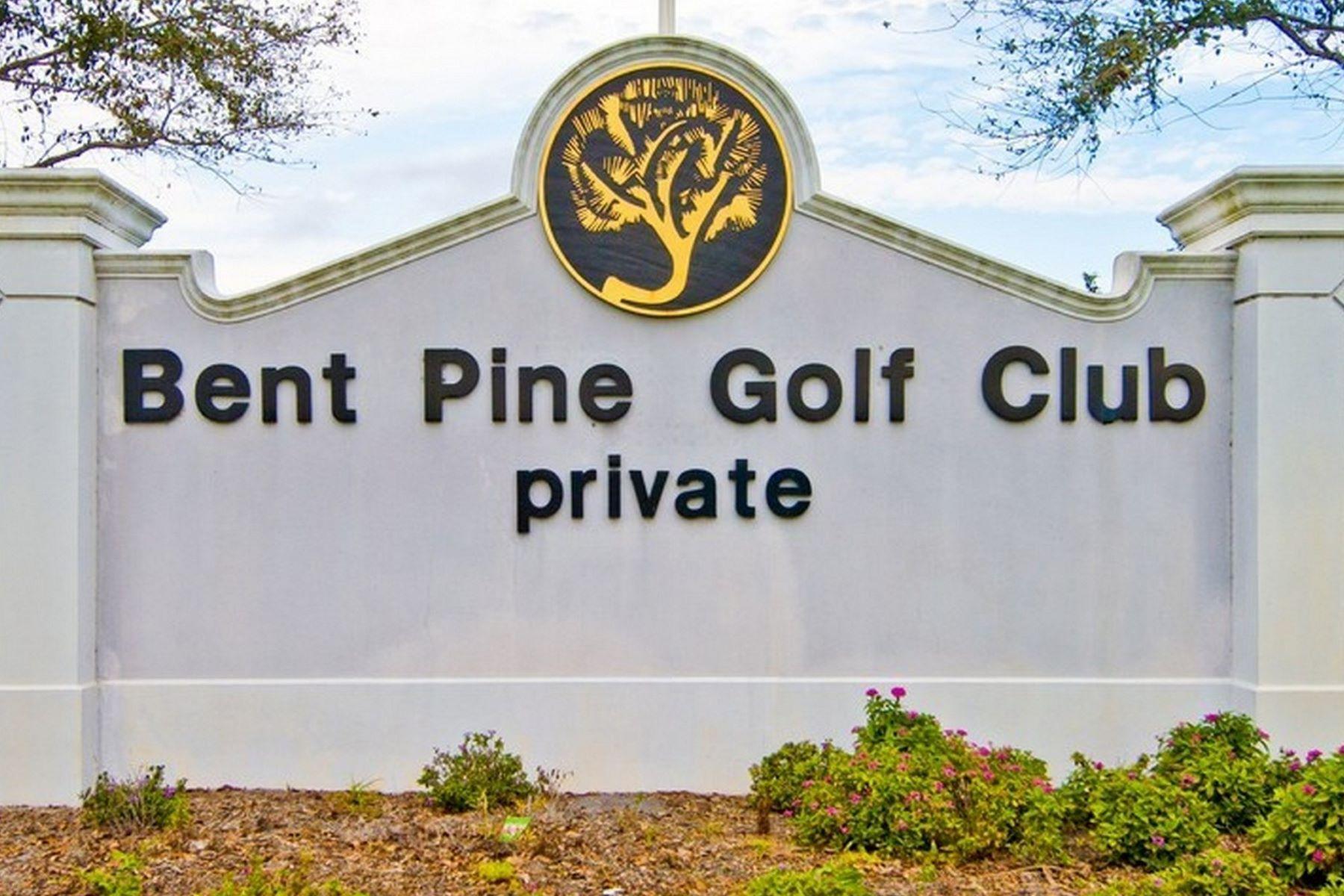 Terrain pour l Vente à Beautiful Homesite in Bent Pine 5750 Glen Eagle Lane Vero Beach, Florida, 32967 États-Unis
