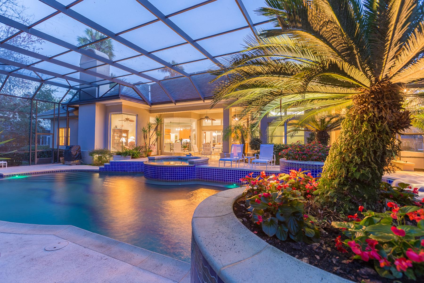 獨棟家庭住宅 為 出售 在 Garden Retreat 179 Governors Road Ponte Vedra Beach, 佛羅里達州, 32082 美國