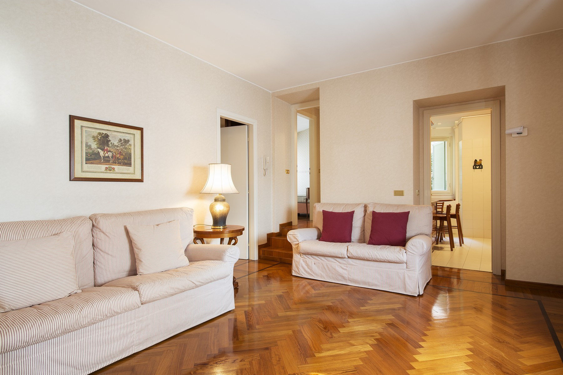 Additional photo for property listing at Elegant apartment in Villa Taverna via Roma Torno, Como 22020 Italy