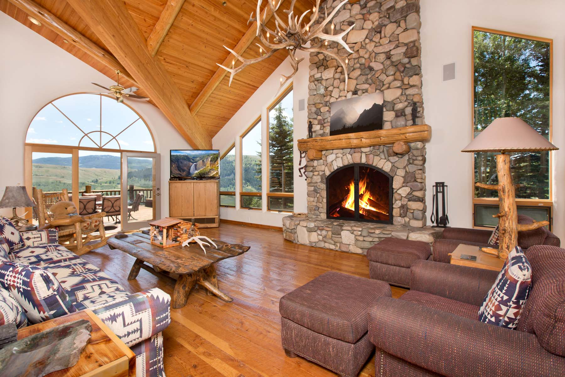 Single Family Home for Sale at Rarely Available Views and Setting 1400 Gannett Road Jackson, Wyoming 83001 United States