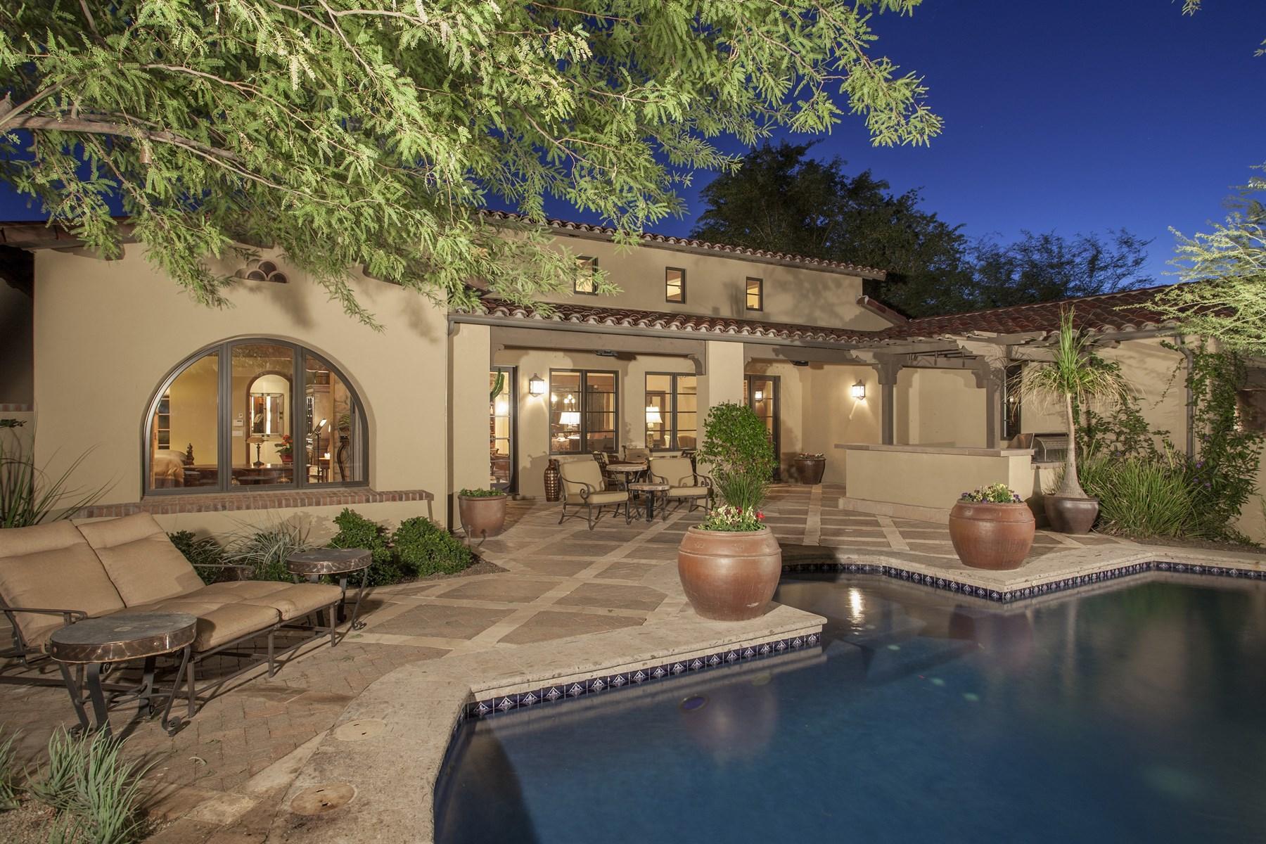 Maison unifamiliale pour l Vente à Exquisite Silverleaf Verandah home in Silverleaf at DC Ranch 10152 E Phantom Way #1311 Scottsdale, Arizona, 85255 États-Unis