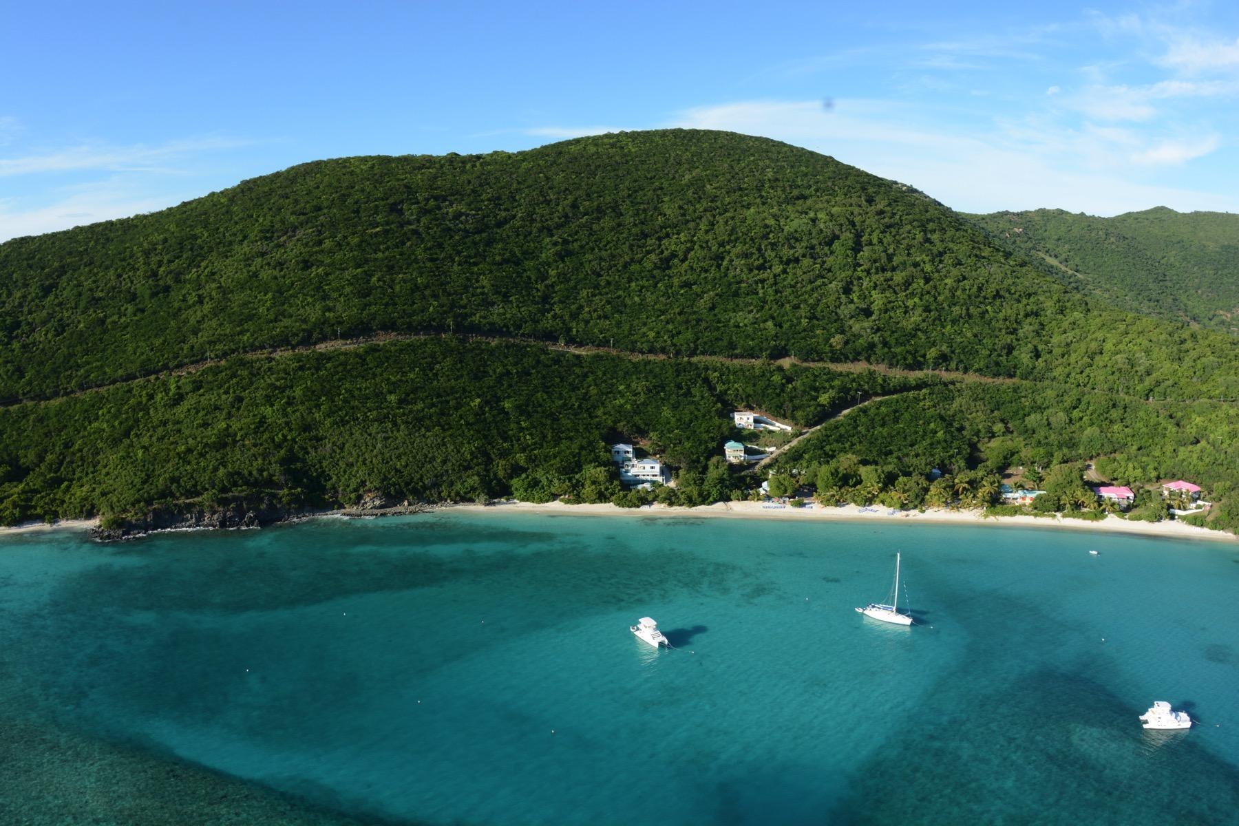 土地 为 销售 在 White Bay Land 205 白湾, 约斯特范代克岛 英属维尔京群岛