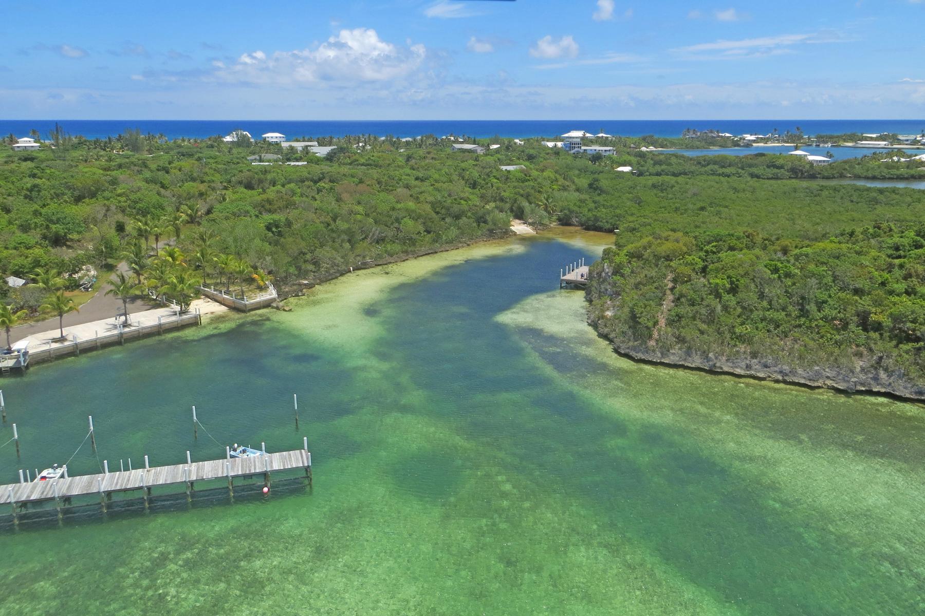 土地 のために 売買 アット Centreline Road Parcel Elbow Cay Hope Town, アバコ, バハマ