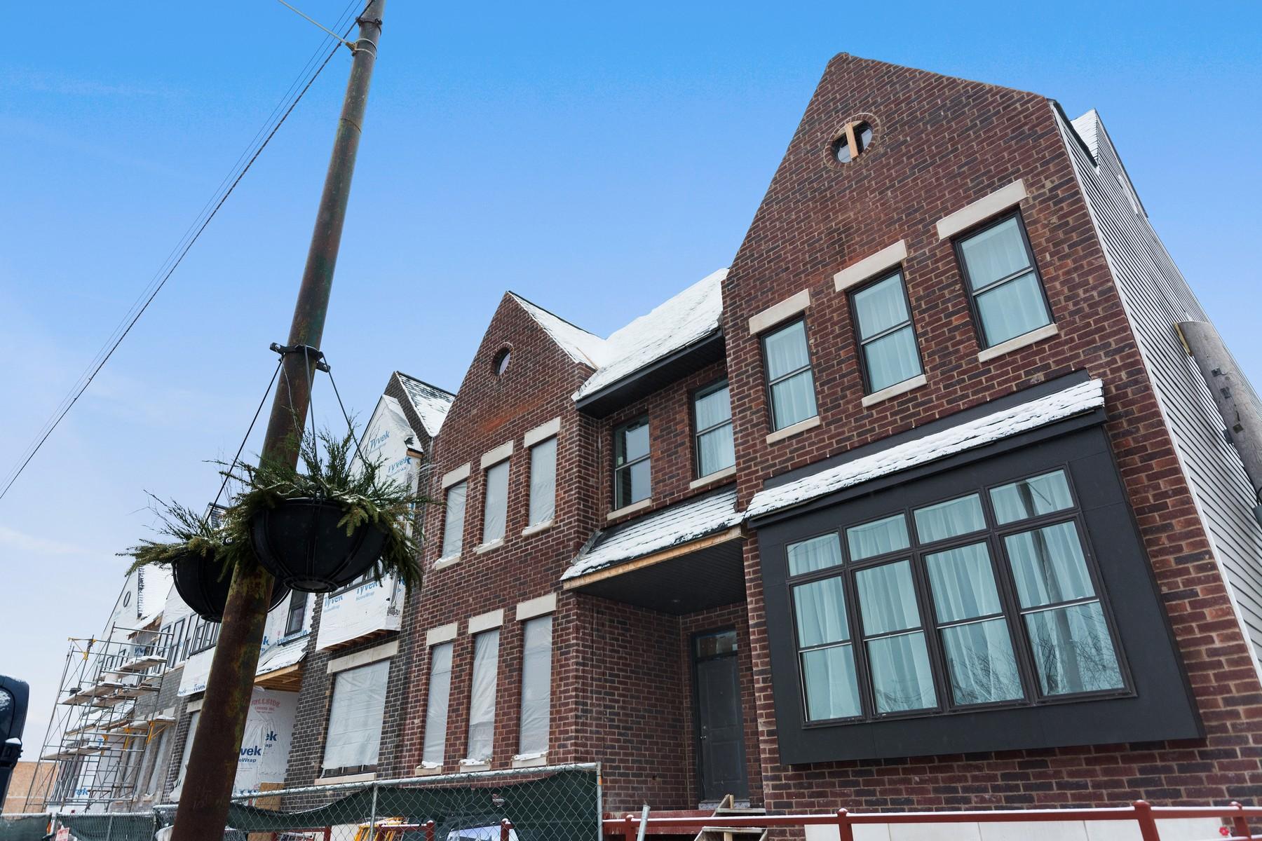 Maison unifamiliale pour l Vente à Brand New Luxury Home 1015 E 43rd Street Kenwood, Chicago, Illinois, 60653 États-Unis