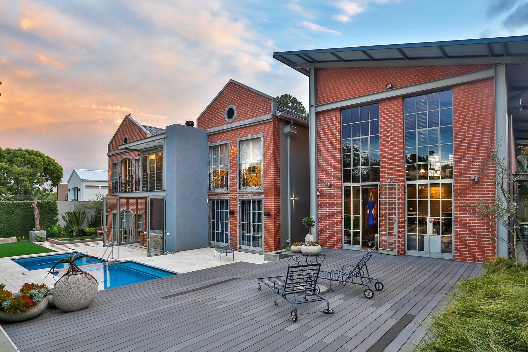 獨棟家庭住宅 為 出售 在 Bryanston Johannesburg, 豪登省, 2092 南非