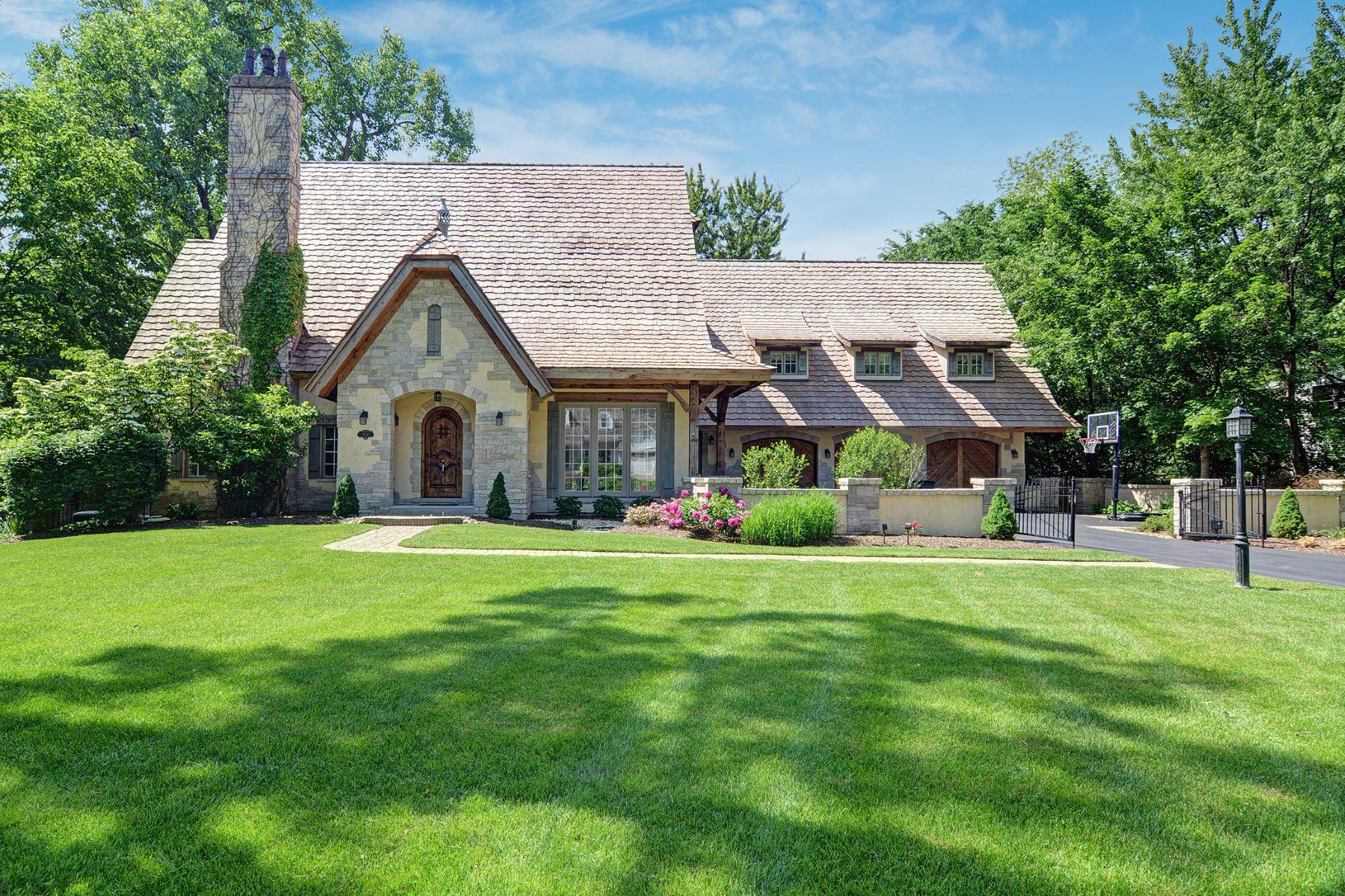 Maison unifamiliale pour l Vente à Birchwood Road 404 Birchwood Rd Hinsdale, Illinois, 60521 États-Unis