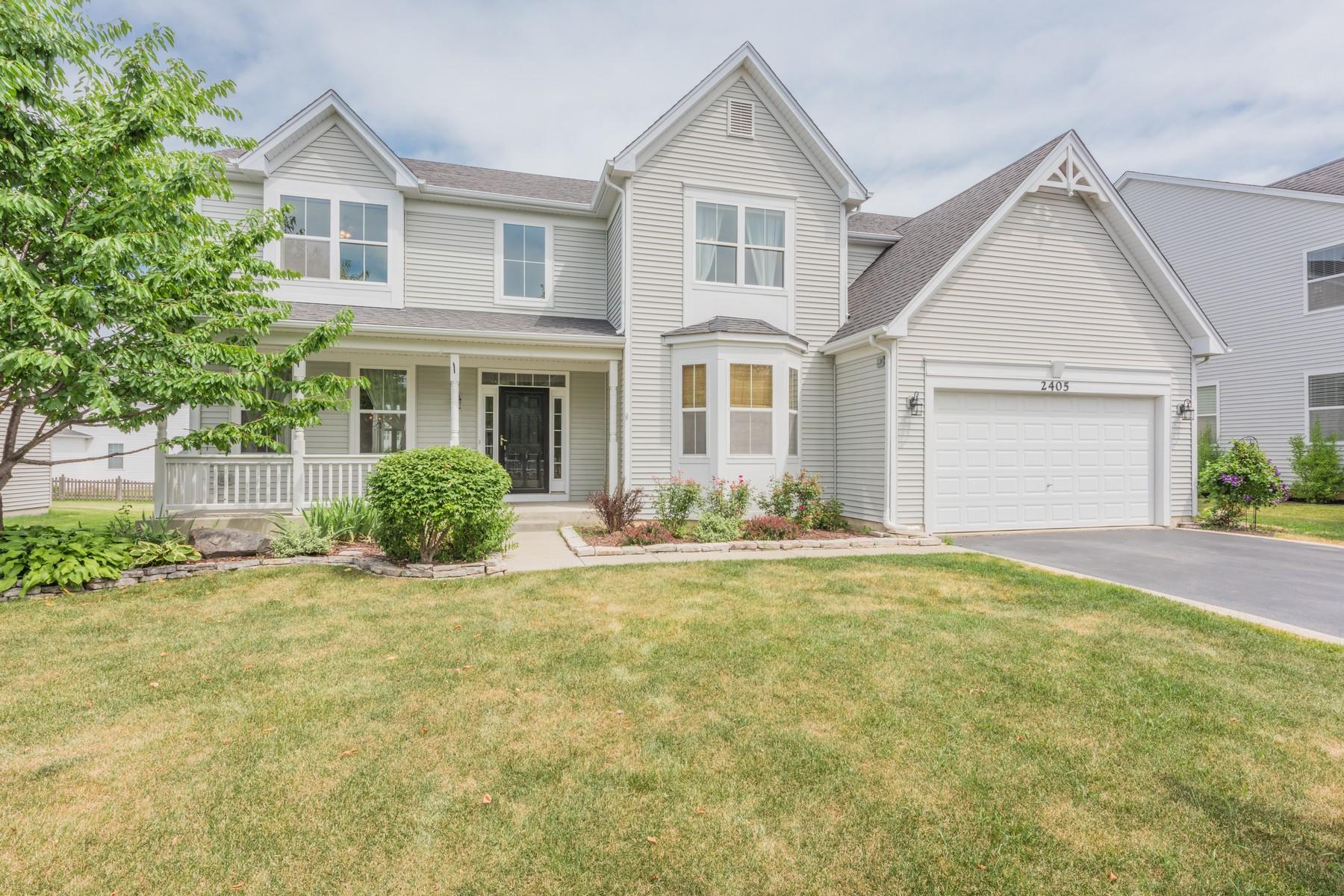 Maison unifamiliale pour l Vente à Freshly Updated Home 2405 Trailside Lane Wauconda, Illinois, 60084 États-Unis