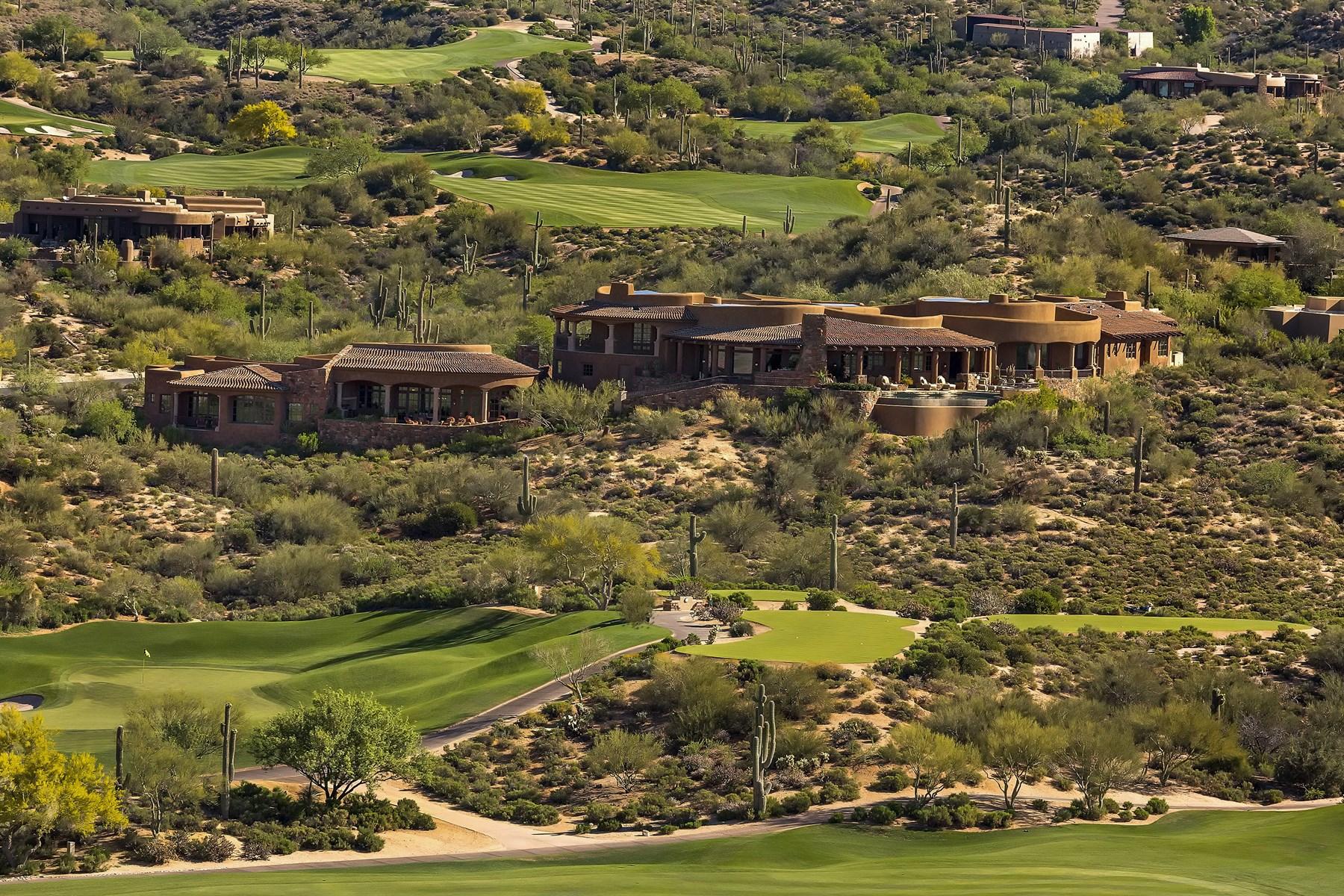 Casa Unifamiliar por un Venta en Village of Lone Mountain 9743 E Madera Dr. Scottsdale, Arizona, 85262 Estados Unidos