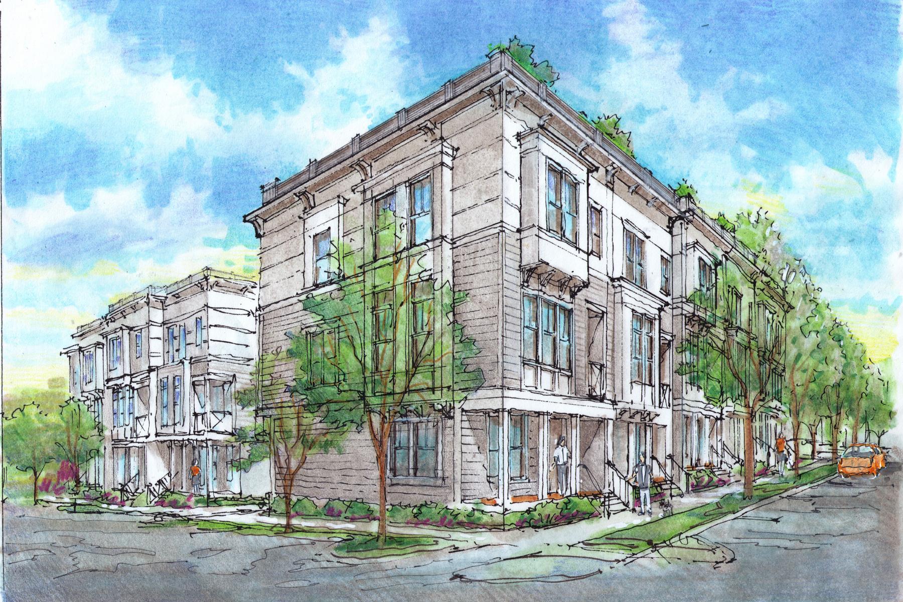多棟聯建住宅 為 出售 在 Exquisite Townhome at the Epicenter of the Atlanta Beltline 187 Stovall Street Unit #5 Atlanta, 喬治亞州, 30316 美國