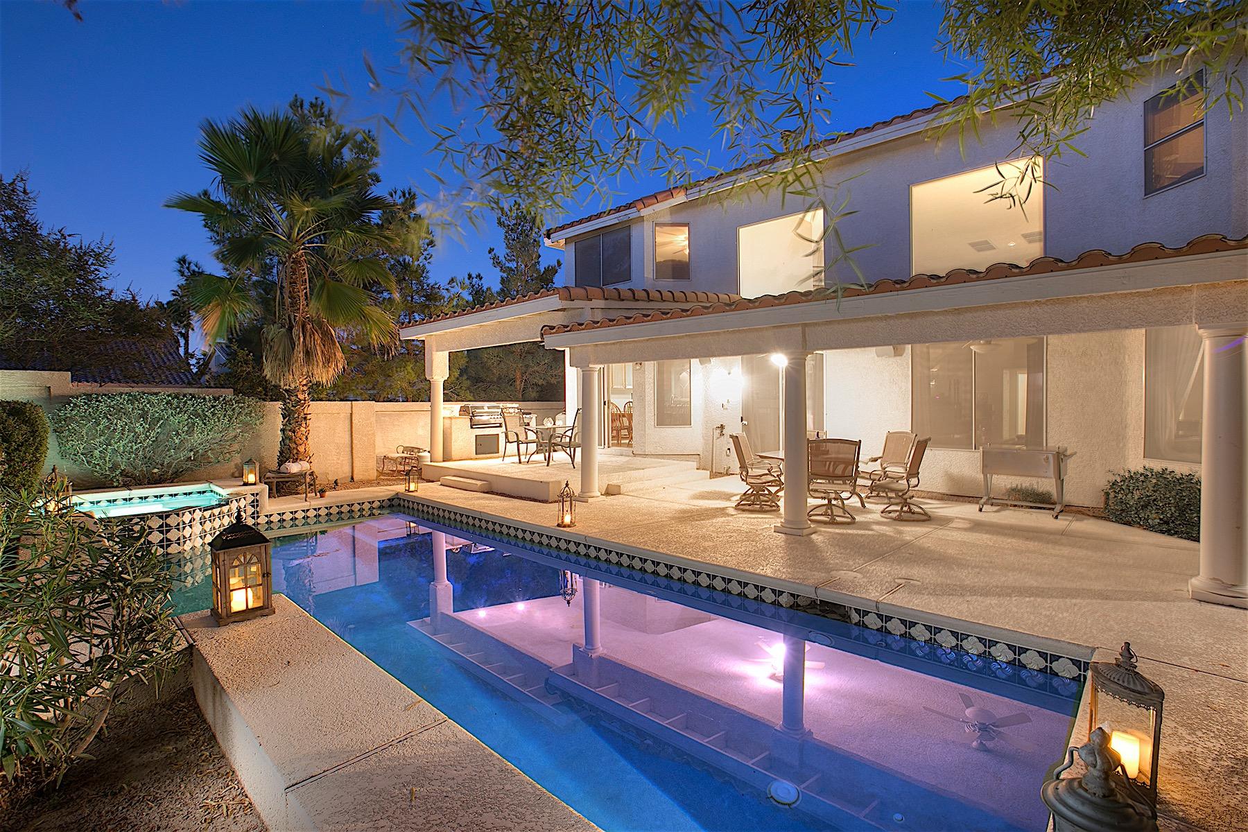 Частный односемейный дом для того Продажа на Crown Jewel in Silverado Ranch 9129 Amber Waves Street Las Vegas, Невада, 89123 Соединенные Штаты