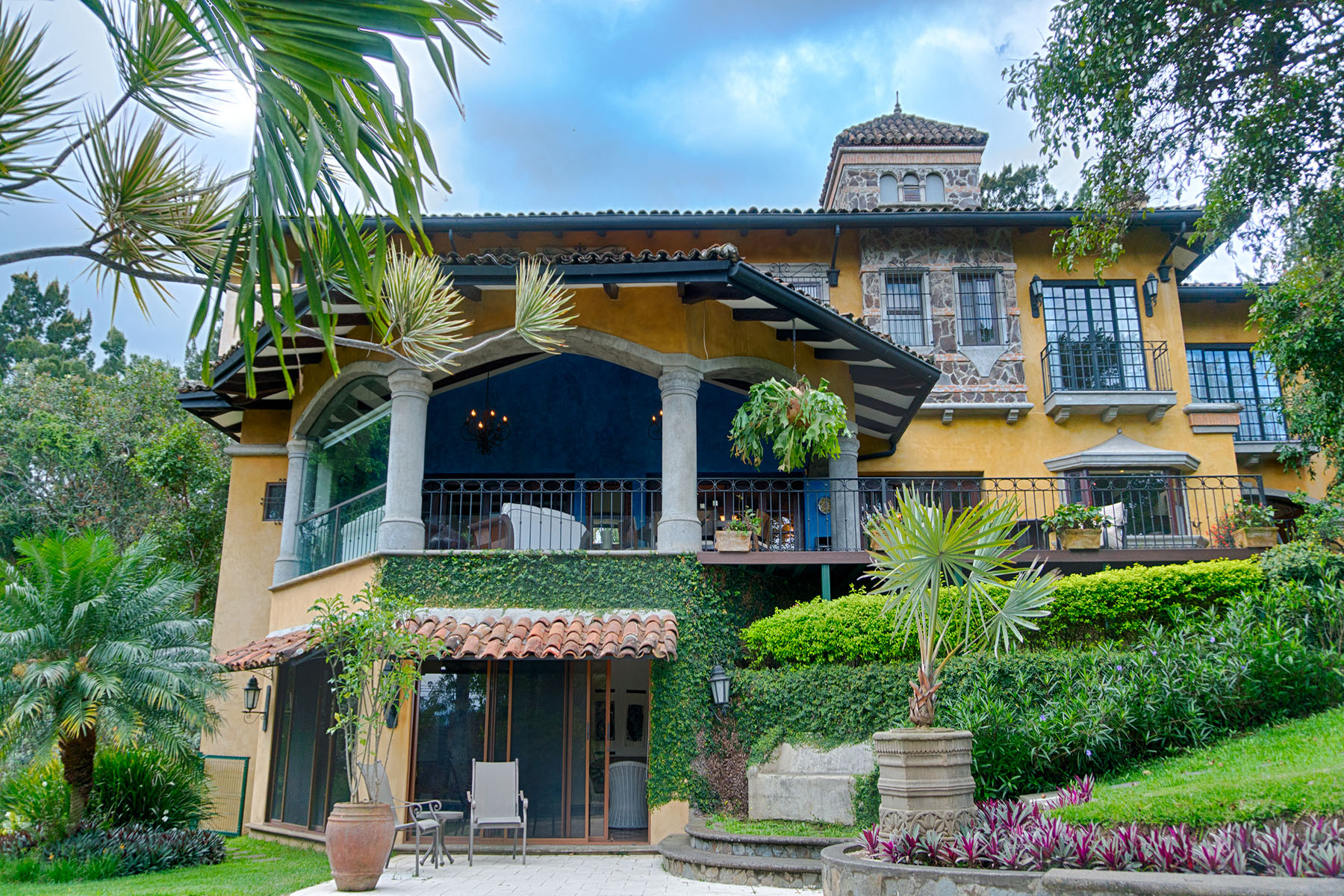 Single Family Home for Sale at Serene Colonial Style Home Escazu, San Jose Costa Rica