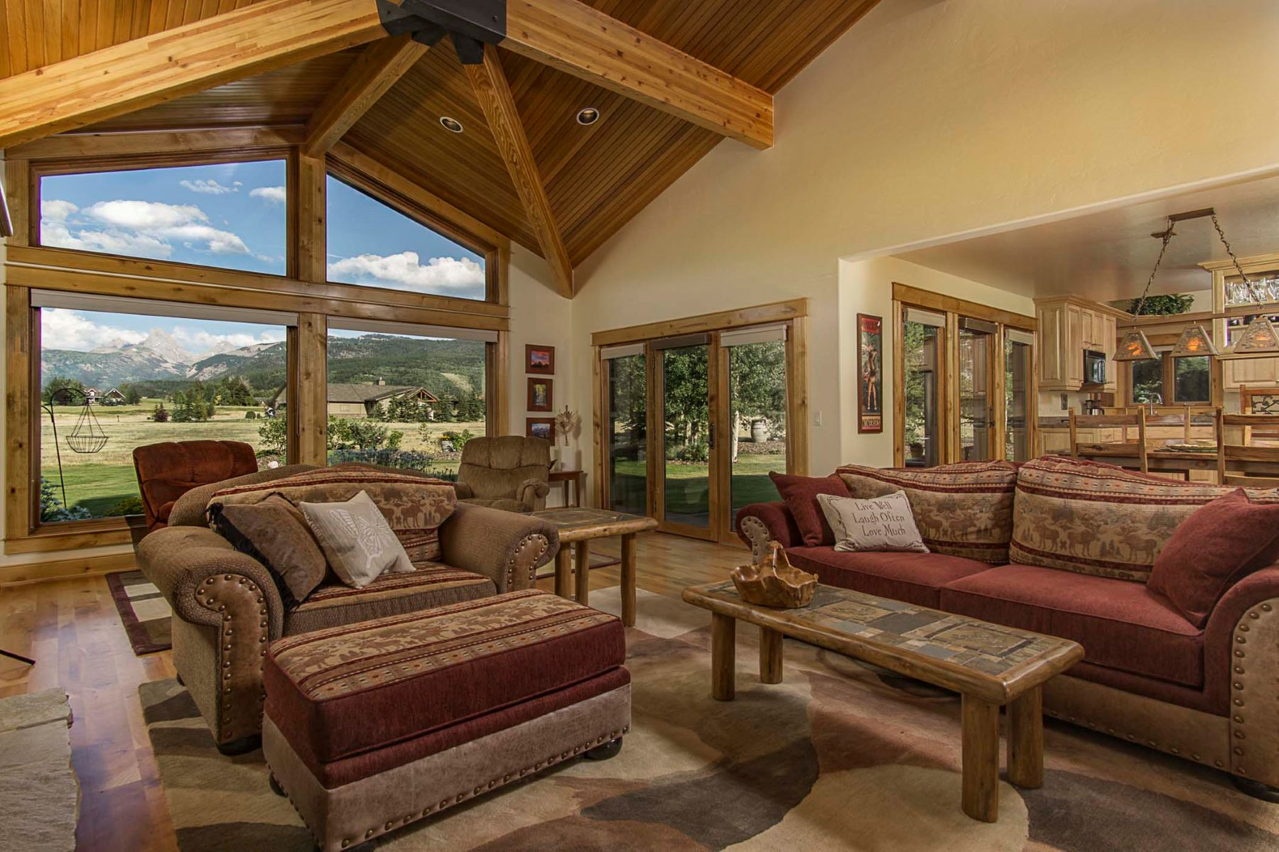 Single Family Home for Sale at Custom Home in Alta 445 Altamont Rd Alta, Wyoming, 83414 Jackson Hole, United States