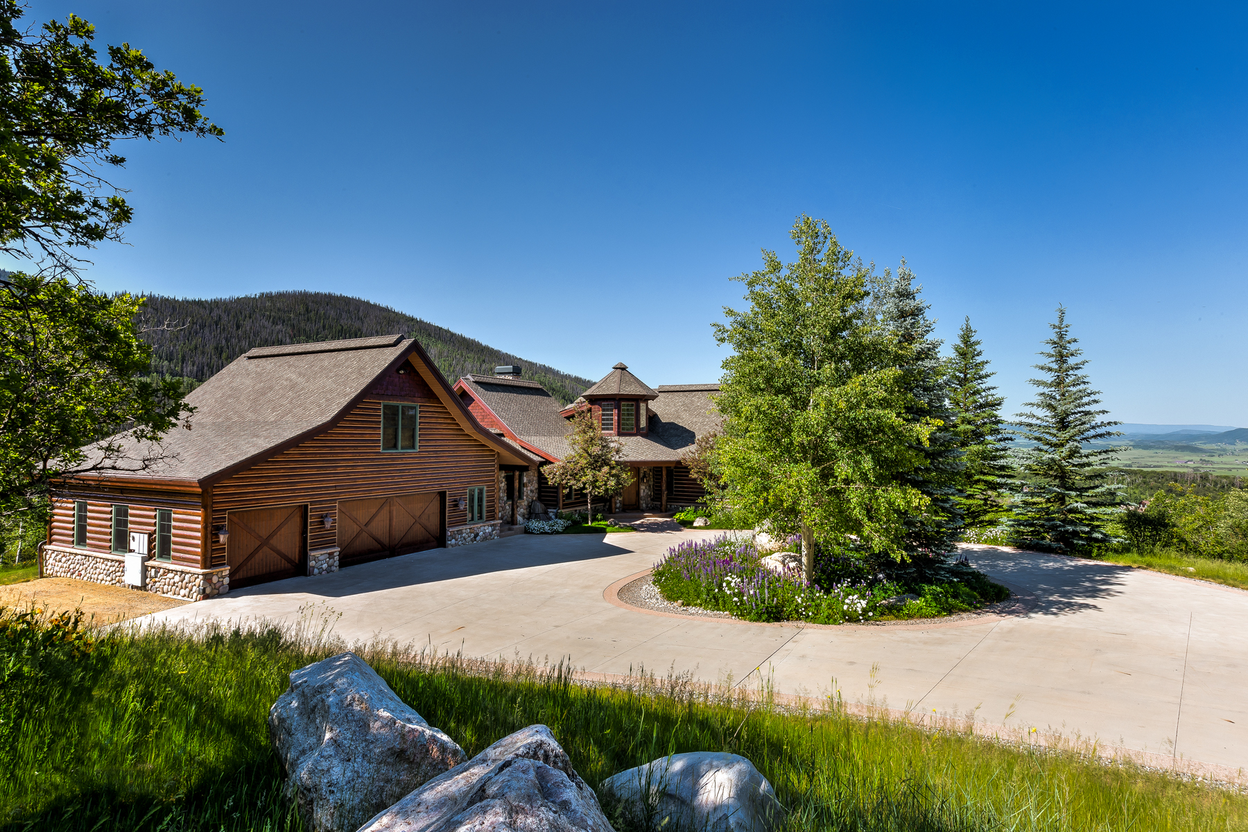 Maison unifamiliale pour l Vente à Catamount Ranch 34200 Catamount Dr. Steamboat Springs, Colorado 80487 États-Unis