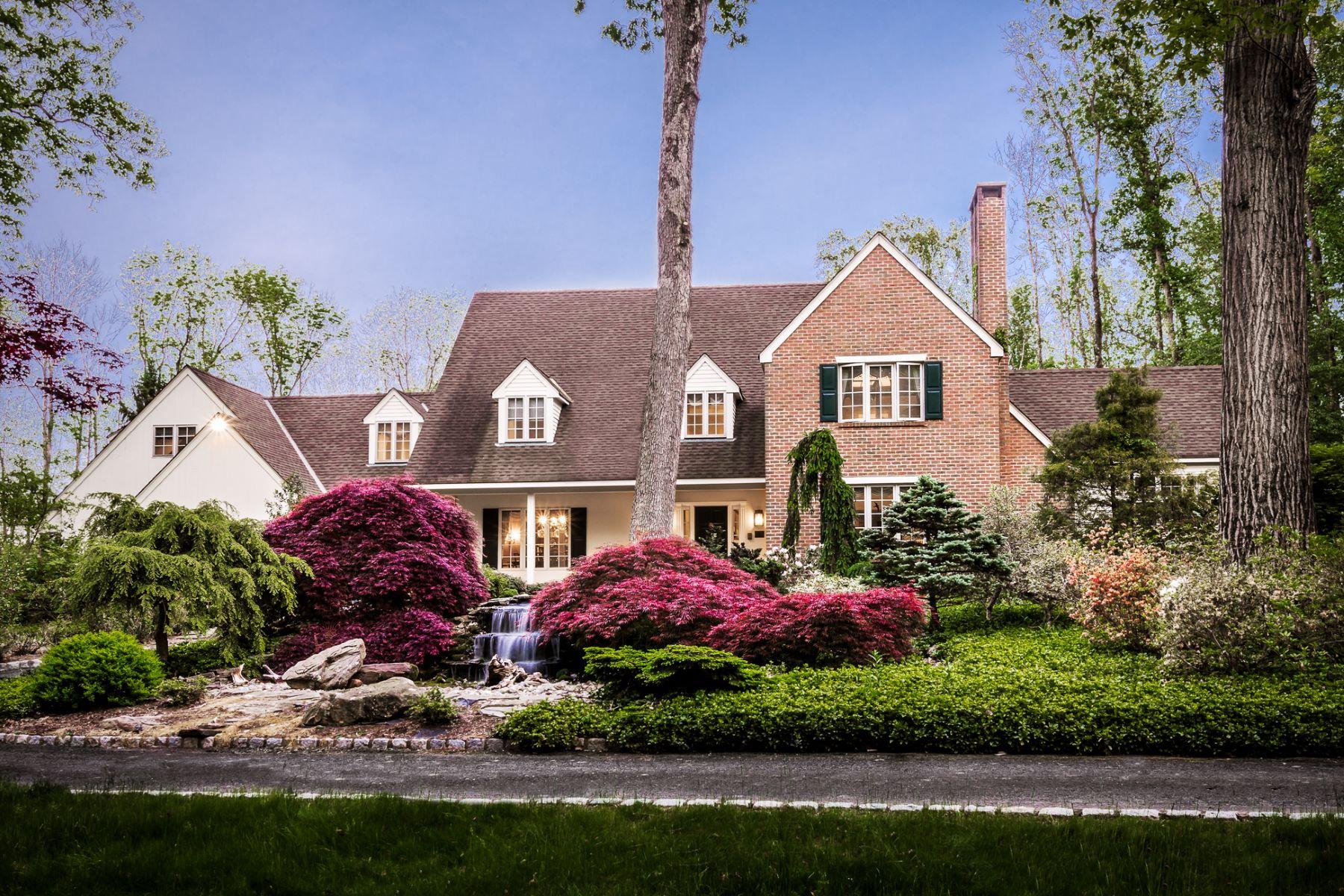 Maison unifamiliale pour l Vente à A Majestic Setting for Distinctive Lawrence Estate - Lawrence Township 4497 Province Line Road Princeton, New Jersey, 08540 États-Unis