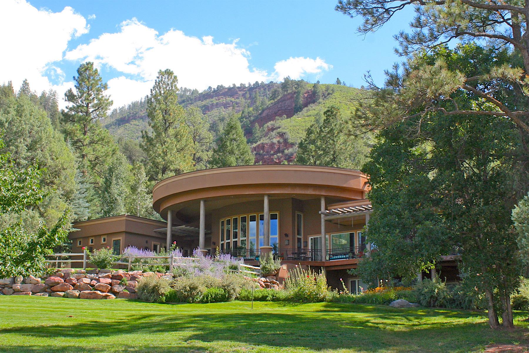 Maison unifamiliale pour l Vente à Pine Rock Estate 6636 CR 250 Durango, Colorado, 81301 États-Unis