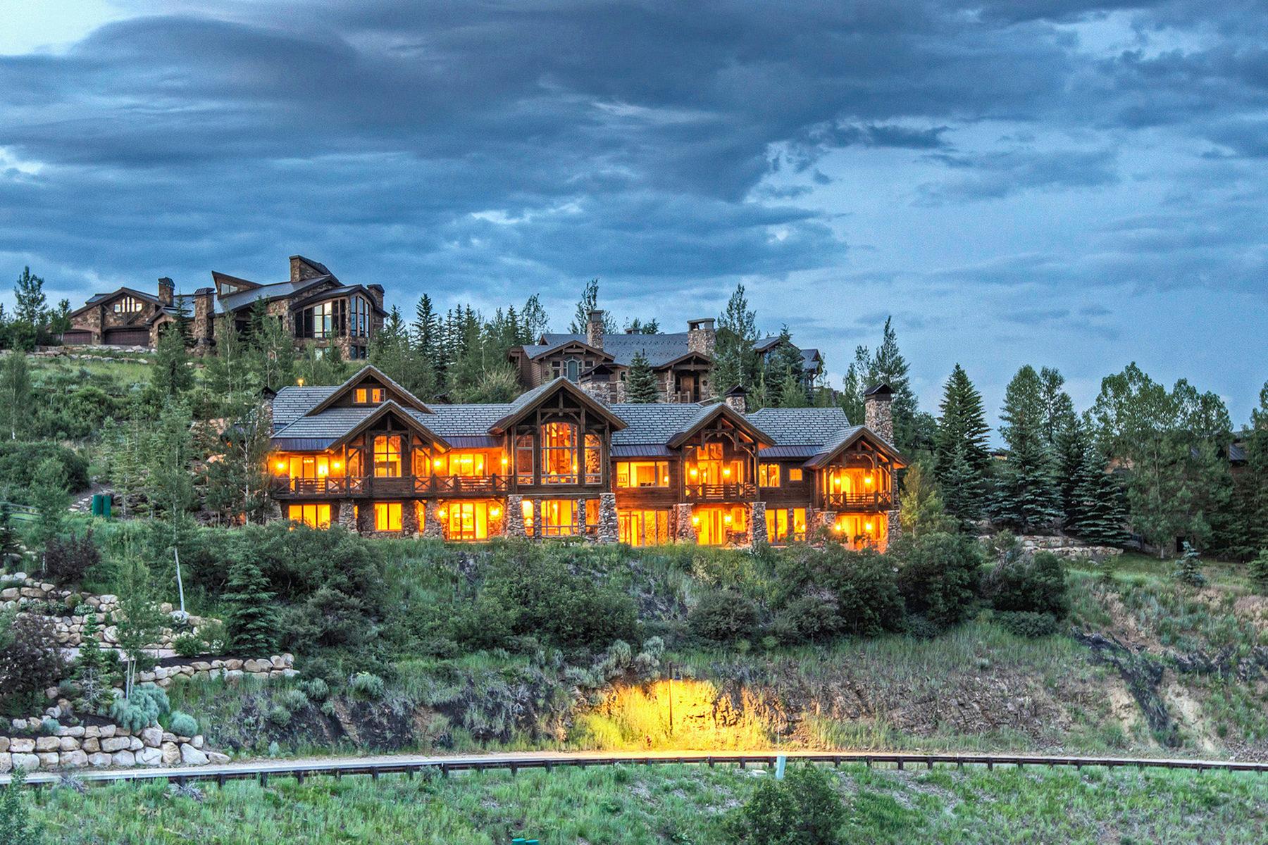 Einfamilienhaus für Verkauf beim Spectacular Deer Valley Ski Home 10015 N Summit View Dr Park City, Utah, 84060 Vereinigte Staaten