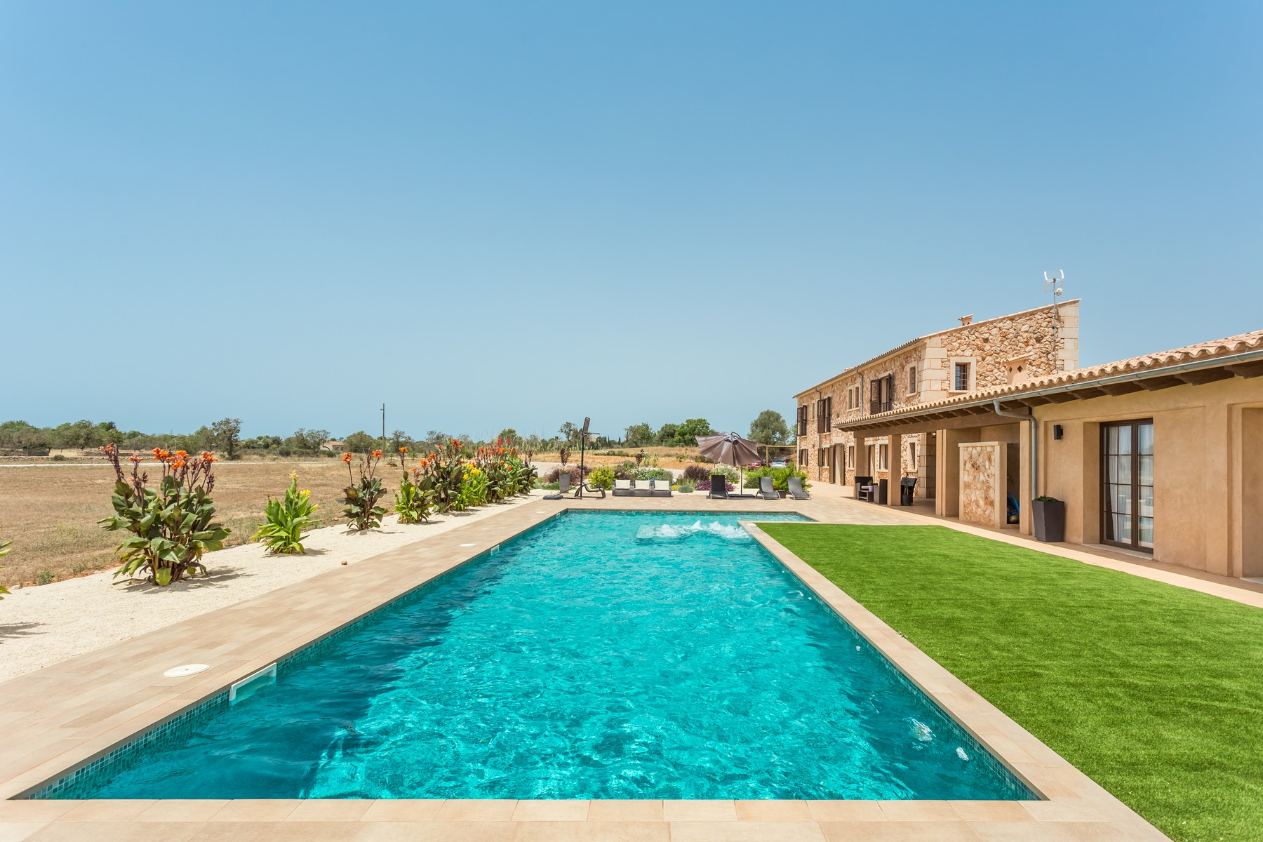 Casa Unifamiliar por un Venta en Country Estate with panoramic views in Llucmajor Other Balearic Islands, Balearic Islands, 07000 España
