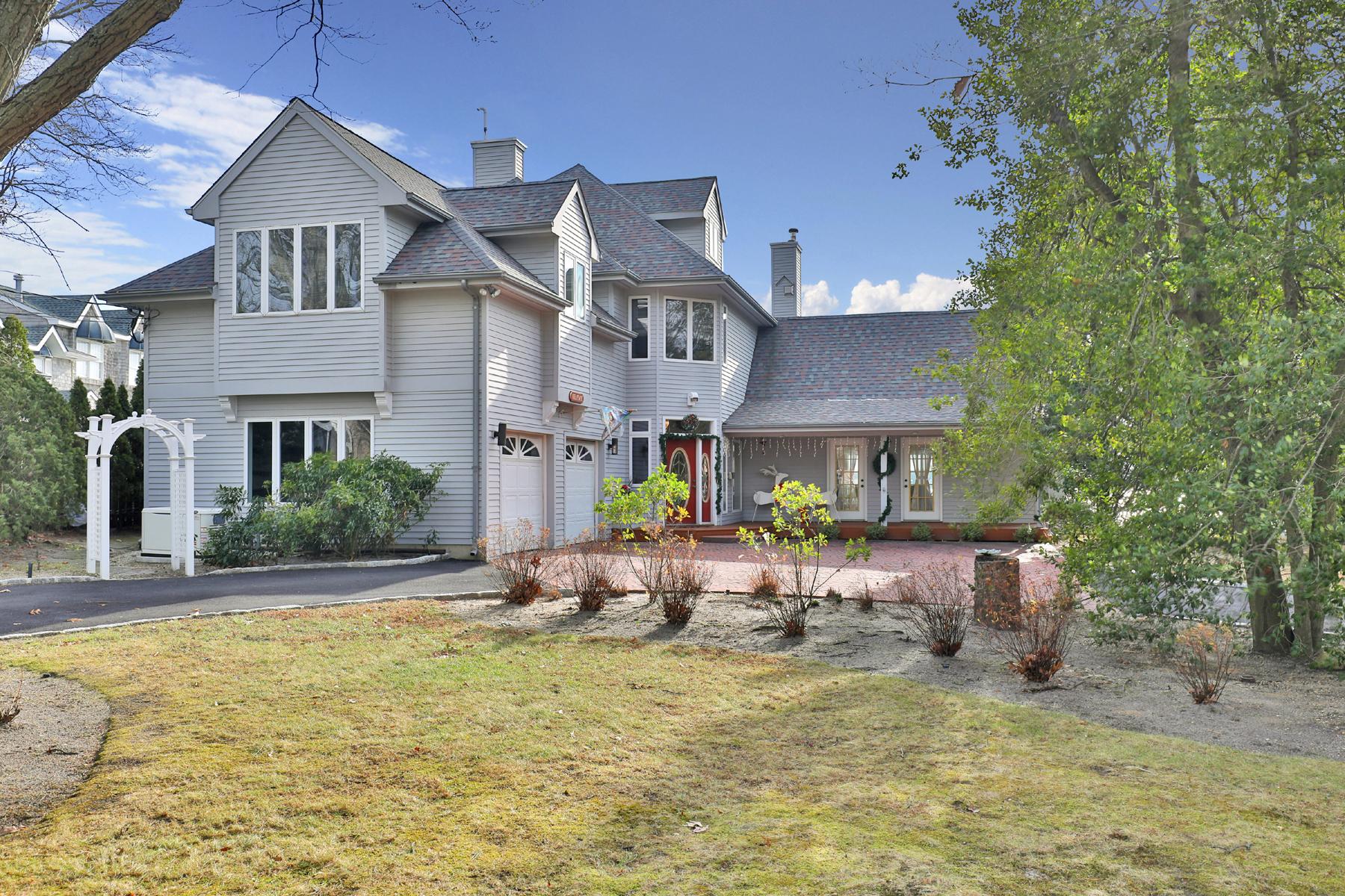 独户住宅 为 销售 在 Spectacular River Views At Every Angle 523 Princeton Avenue 布里克, 08724 美国