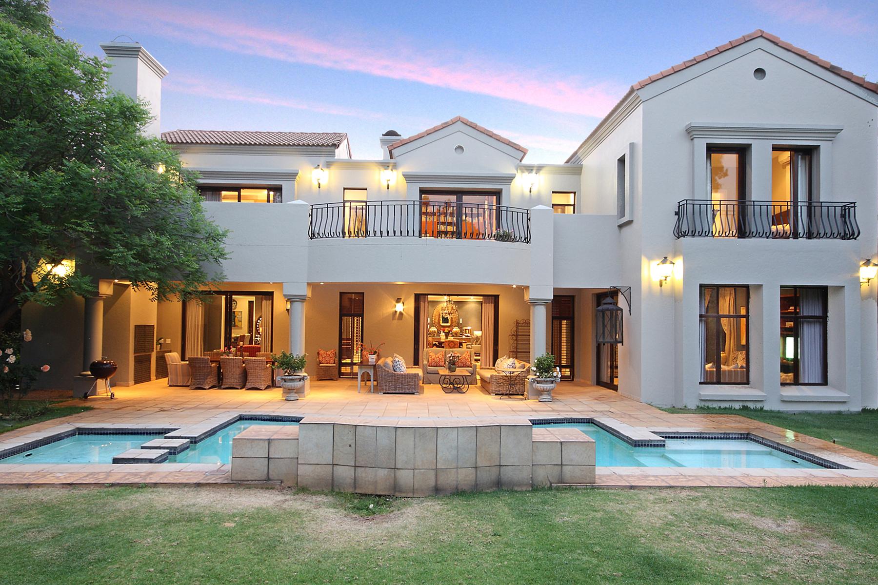 獨棟家庭住宅 為 出售 在 Sandhurst Other Gauteng, 豪登省, 0000 南非