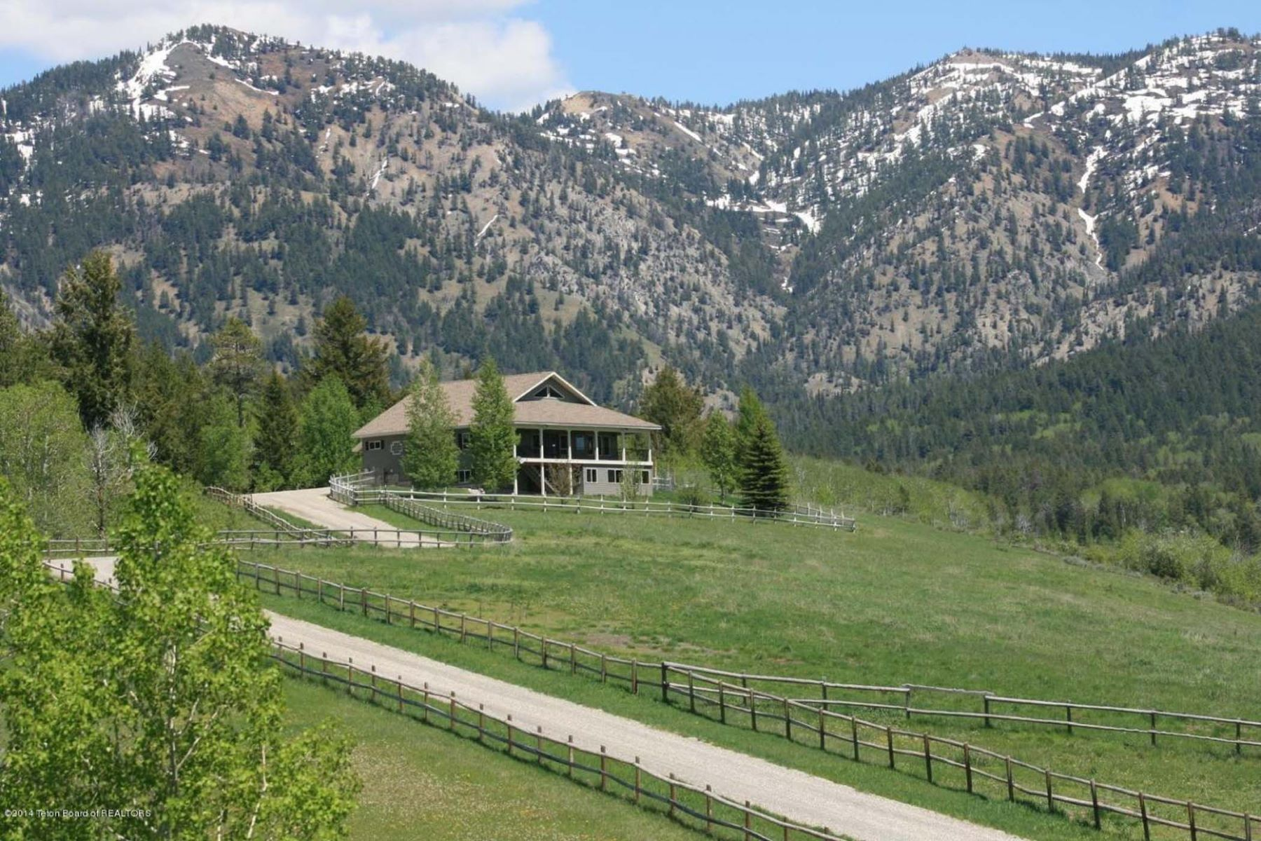 Farm / Ranch / Plantation for Sale at Etna, WY Equestrian Estate 1546 Stewart Trail Etna, Wyoming 83118 United States