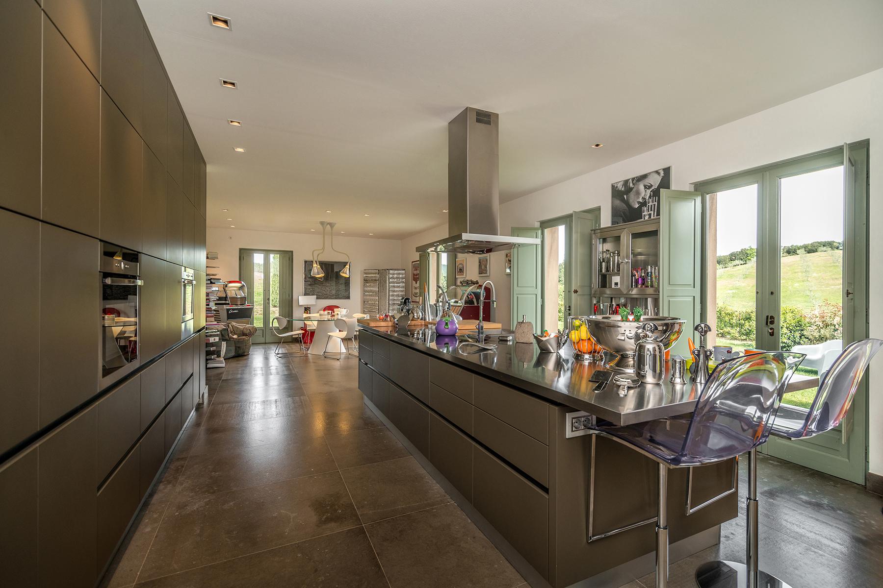 Additional photo for property listing at Unique luxury contemporary villa in an olive grove estate Massa Marittima, Grosseto Italy