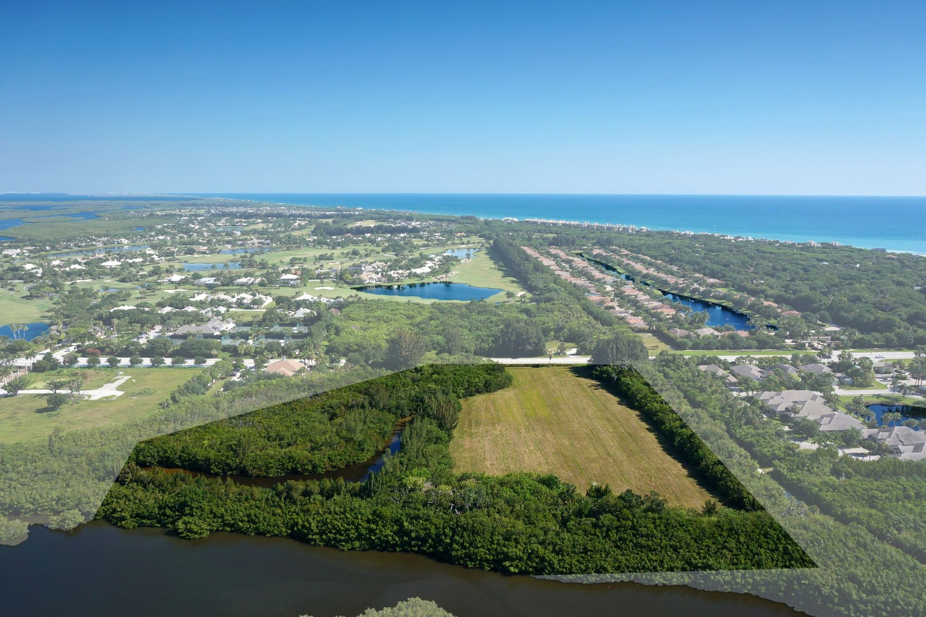 Terrain pour l Vente à Rare Waterfront Development C R 510 Vero Beach, Florida, 32963 États-Unis