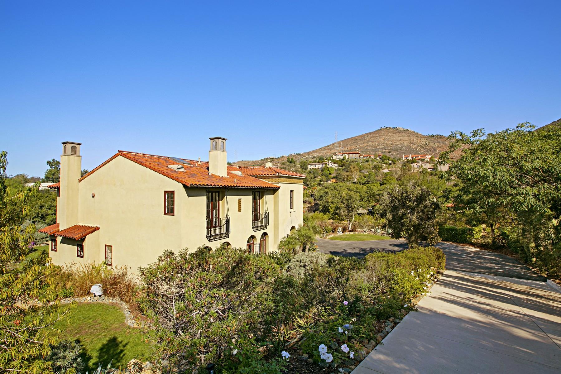 Single Family Home for Sale at 7718 La Orquidia Rancho Santa Fe, California 92067 United States