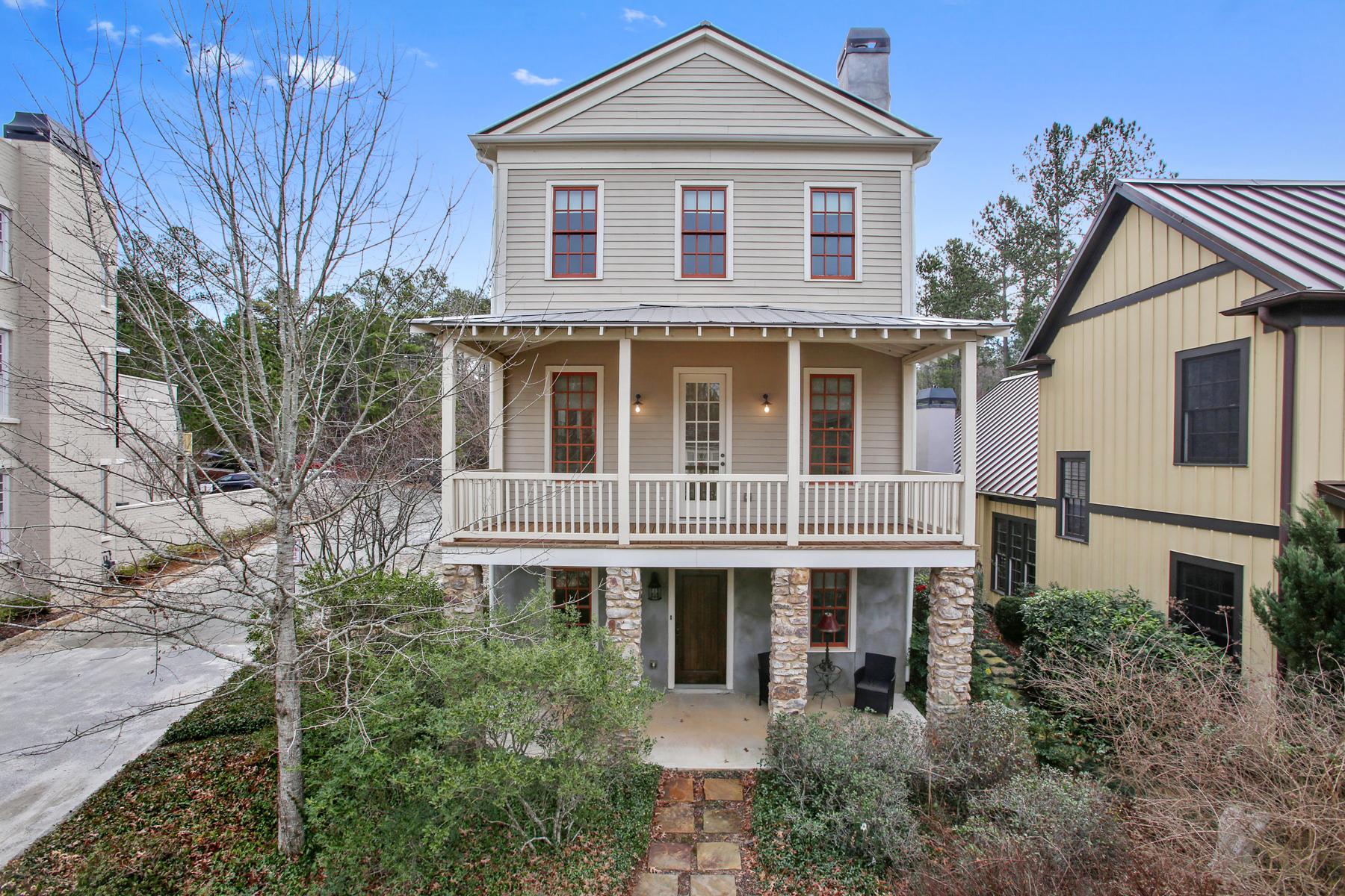 Maison unifamiliale pour l Vente à Inviting Serenbe Cottage in the Highly Sought-After Selborne Area 9134 Selborne Lane Chattahoochee Hills, Georgia, 30268 États-Unis