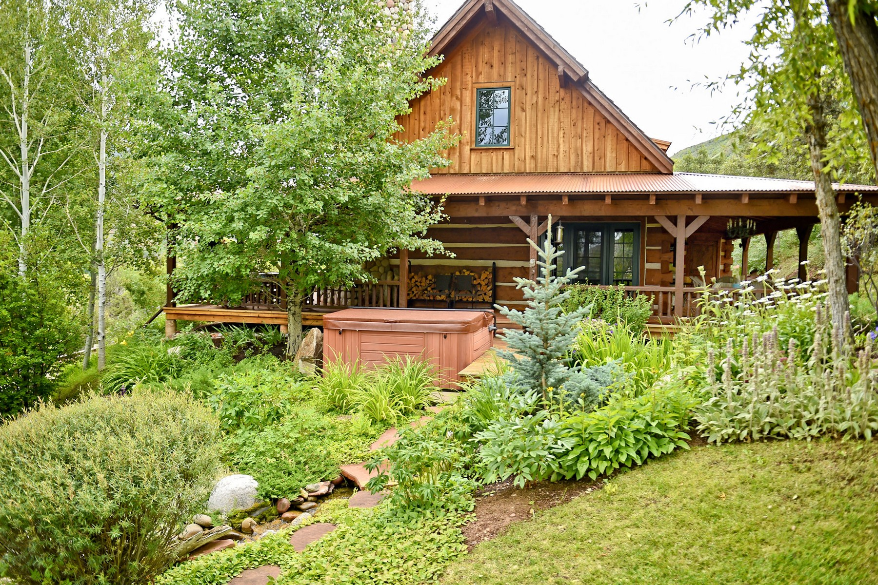 Single Family Home for Sale at Roaring Fork Club Cabin 45 45 Altamira Ranch Road Basalt, Colorado, 81621 United States