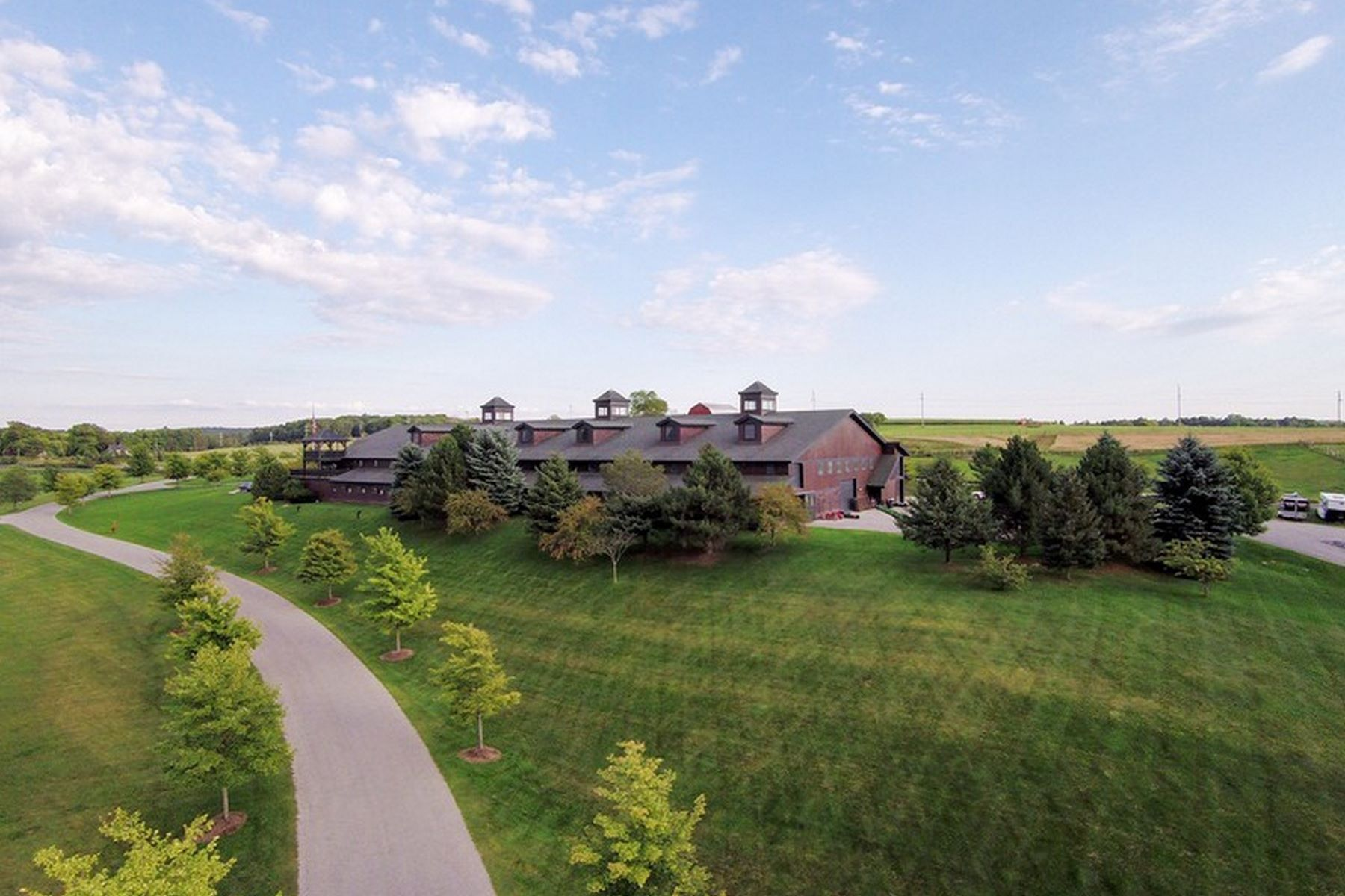 Farm / Ranch / Plantation for Sale at Equestrian Masterpiece 5251 Charlevoix Road, Bay Harbor, Michigan 49770 United States
