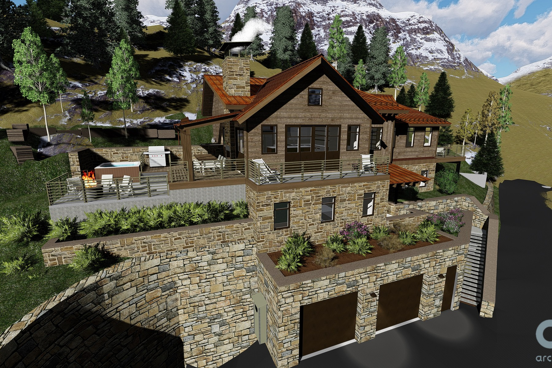 Land for Sale at East Gregory Avenue Estate Lot Lot 3, East Gregory Avenue, Telluride, Colorado, 81435 United States