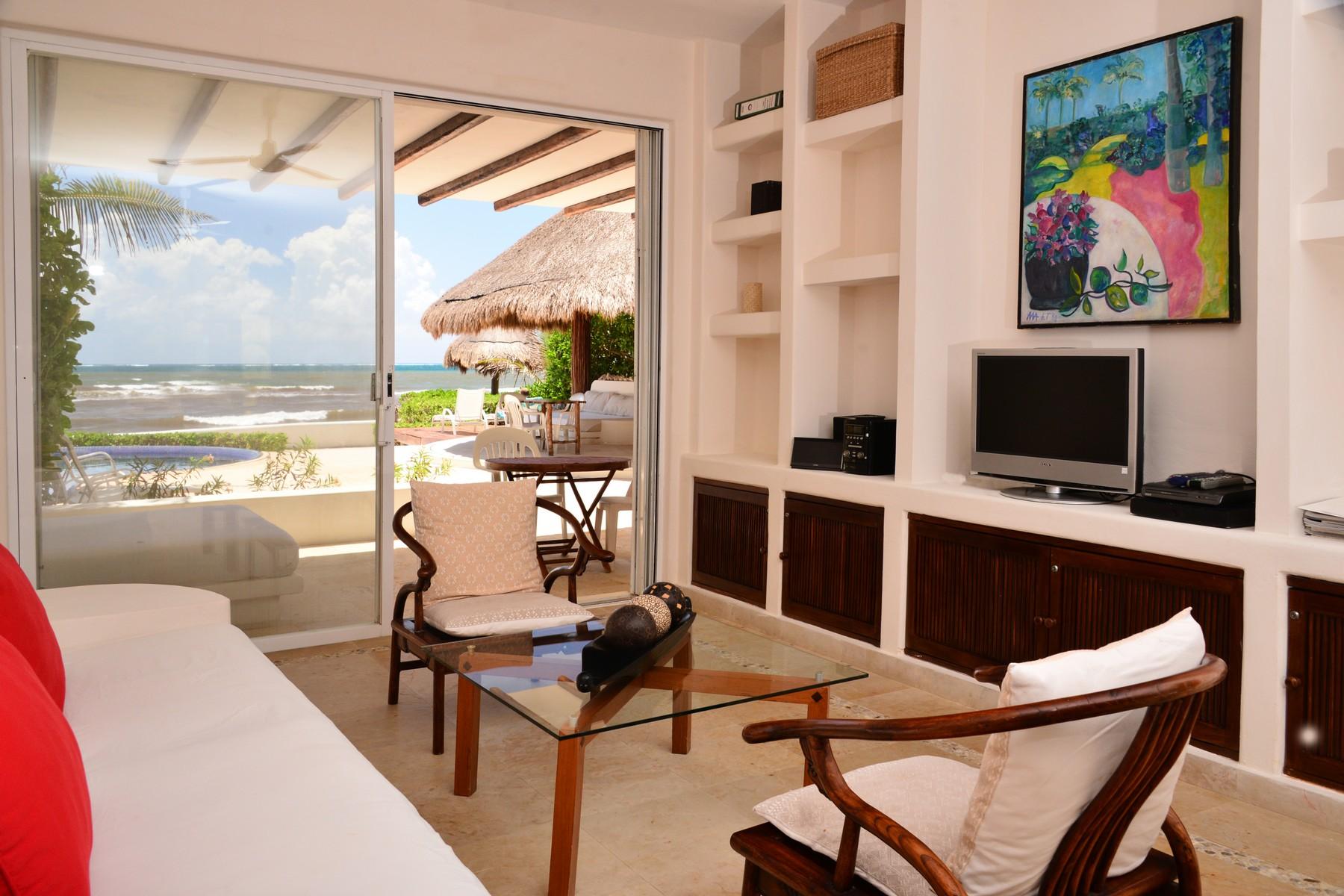 Additional photo for property listing at SEAFRONT PARADISE UNIT #101 Seafront Paradise – Unit #101 Predio Maria Irene, Supermzna 12, Mzna 21 13 Puerto Morelos, Quintana Roo 77930 Mexico