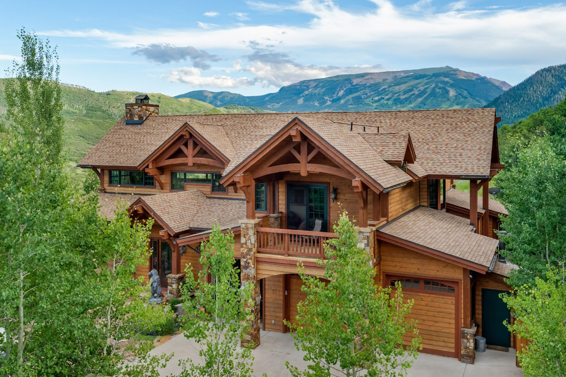 Single Family Home for Sale at Shield O Terrace 151 Blue Sage Lane Snowmass, Colorado, 81654 United States