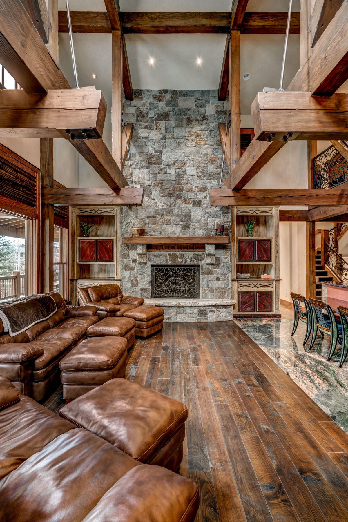 Maison accolée pour l Vente à Porches Luxury Home 2069 Indian Summer Drive Steamboat Springs, Colorado, 80487 États-Unis