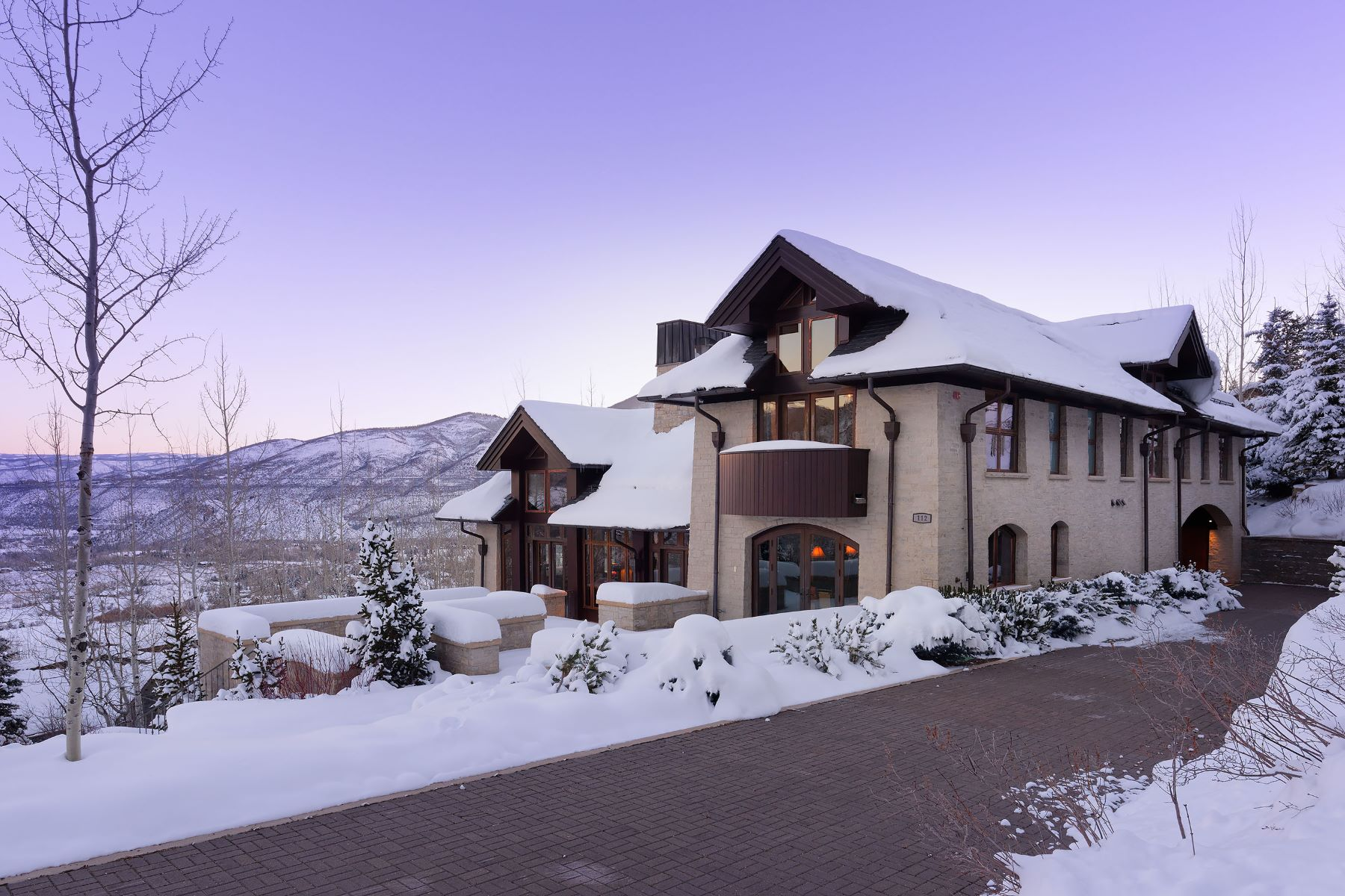 Casa Unifamiliar por un Venta en Falcon One 112 Falcon Road Aspen, Colorado, 81611 Estados Unidos