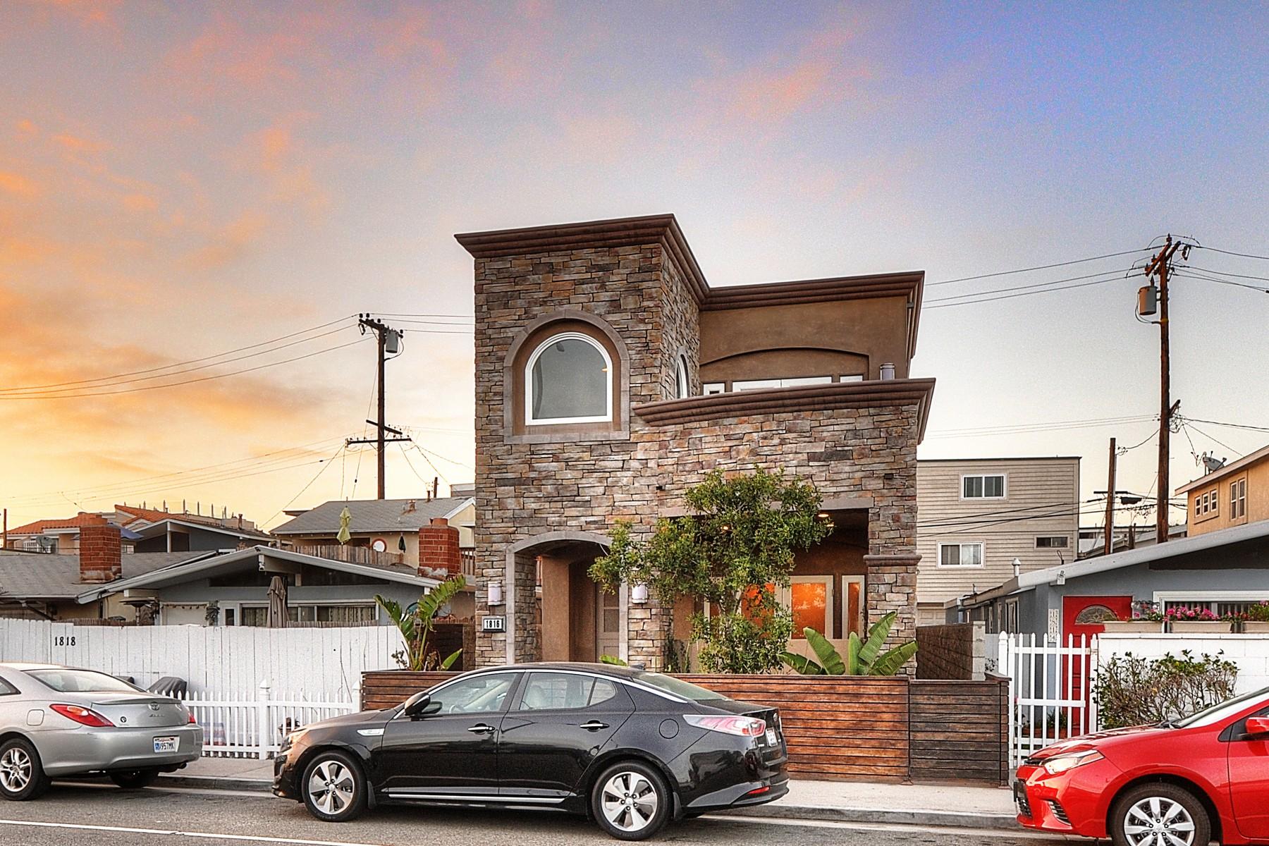 Einfamilienhaus für Verkauf beim 1816 W. Balboa Blvd. Newport Beach, Kalifornien, 92663 Vereinigte Staaten