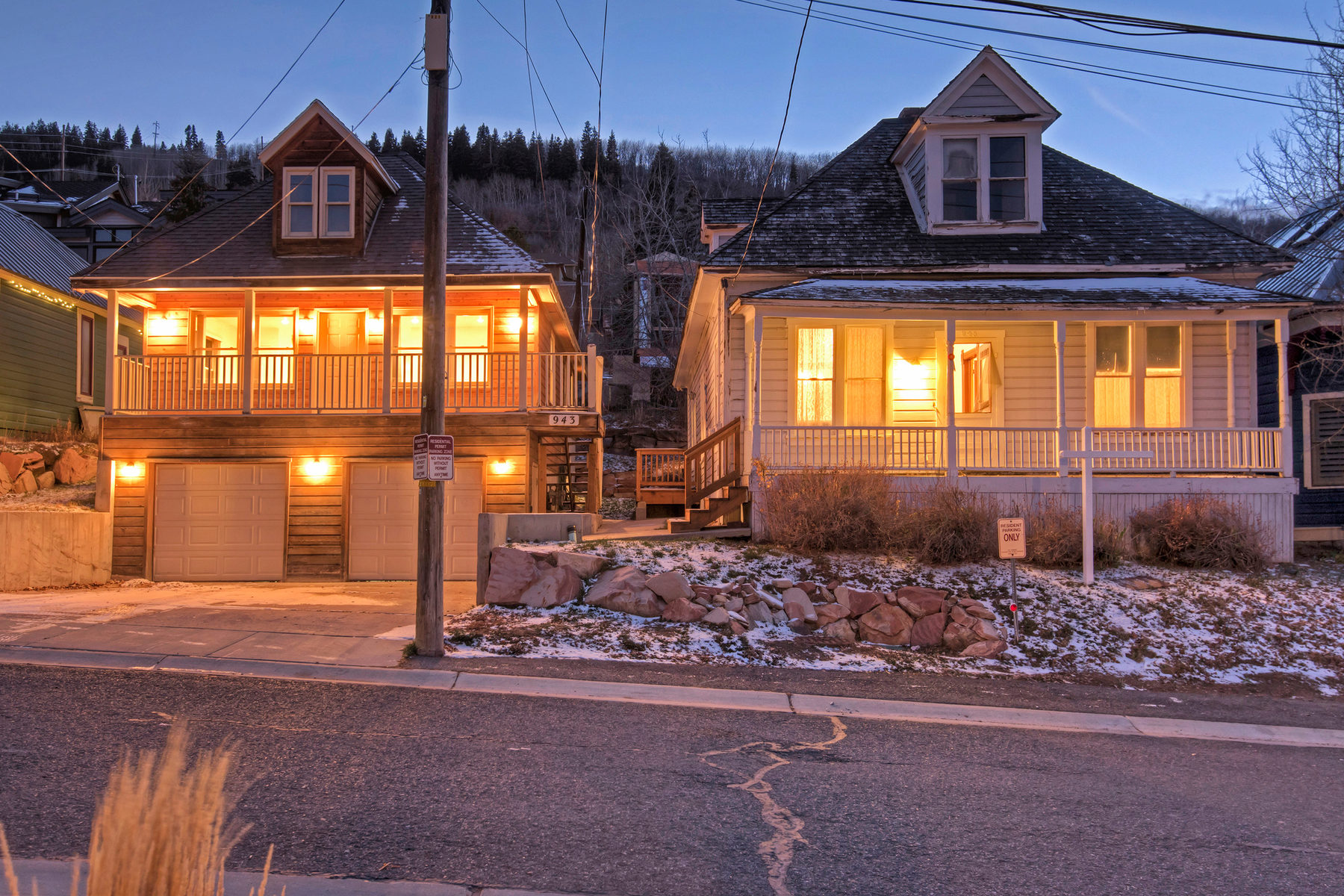 Maison unifamiliale pour l Vente à The Gardner Parcel - The Ultimate Old Town Development Opportunity! 945, 943 Norfolk Ave Park City, Utah, 84060 États-Unis