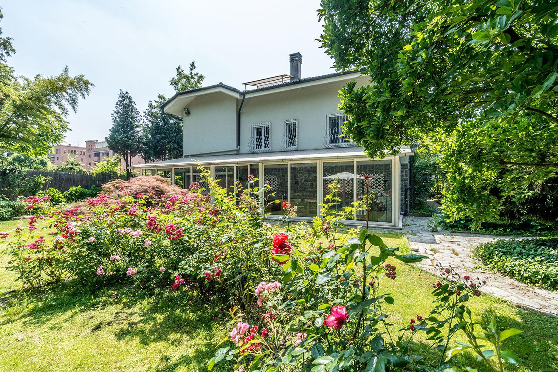 Single Family Home for Sale at Exclusive restored villa in a secular park via Benedetto Diotti Milano, Milan, 20153 Italy