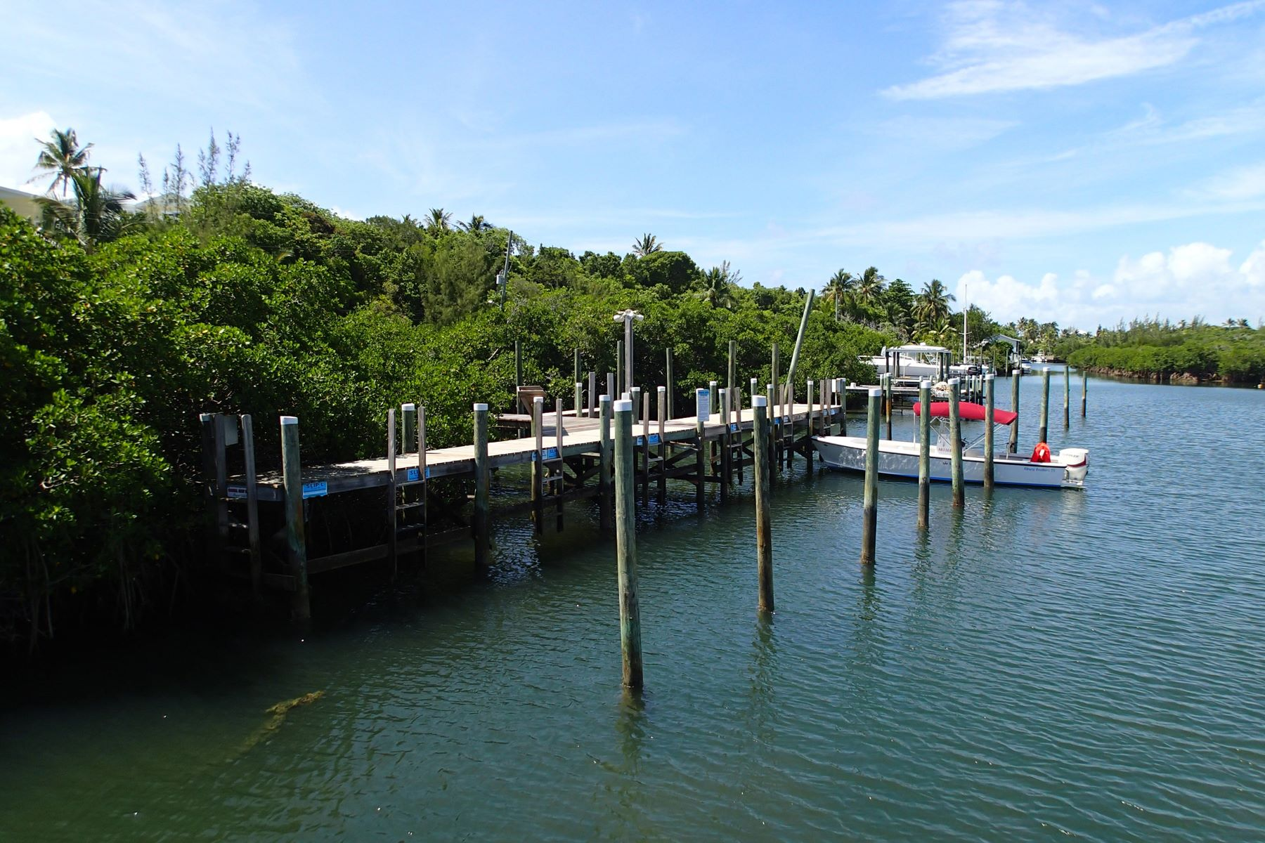 for Sale at Nigh Creek Boat Slips C & D Elbow Cay Hope Town, Abaco Bahamas