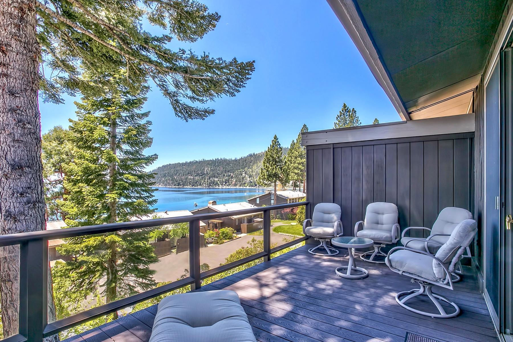 Condominio por un Venta en 549 Lakeshore Boulevard, Unit 8 549 Lakeshore Boulevard Unit 8 Incline Village, Nevada, 89451 Lake Tahoe, Estados Unidos