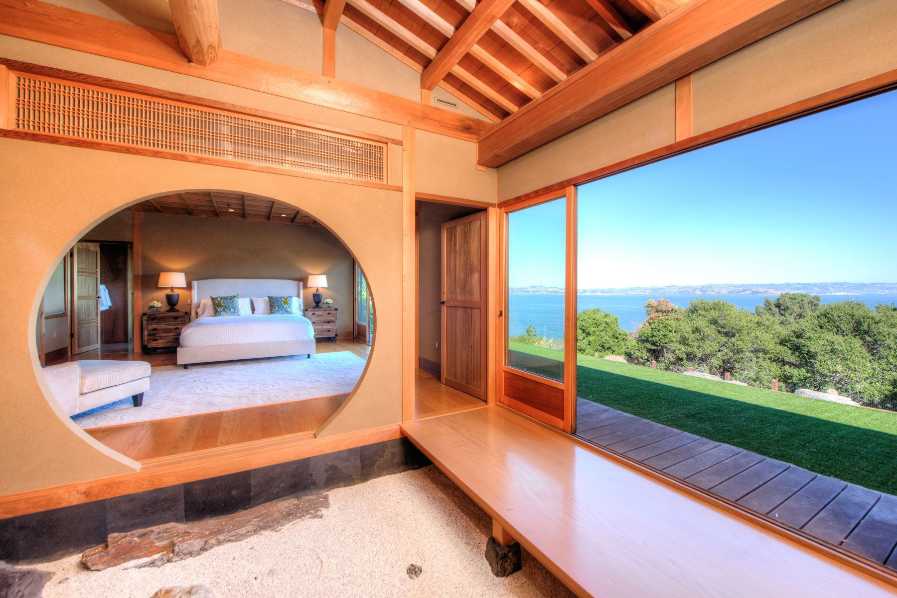 Additional photo for property listing at Artful Japanese Living 63 Norman Way Tiburon, California 94920 United States
