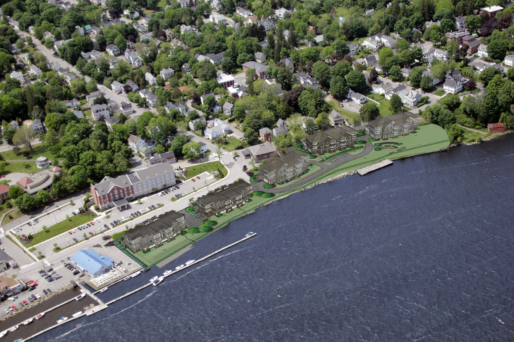 Condominium for Sale at 145 Commercial Street, # 201 Bath, Maine, 04530 United States