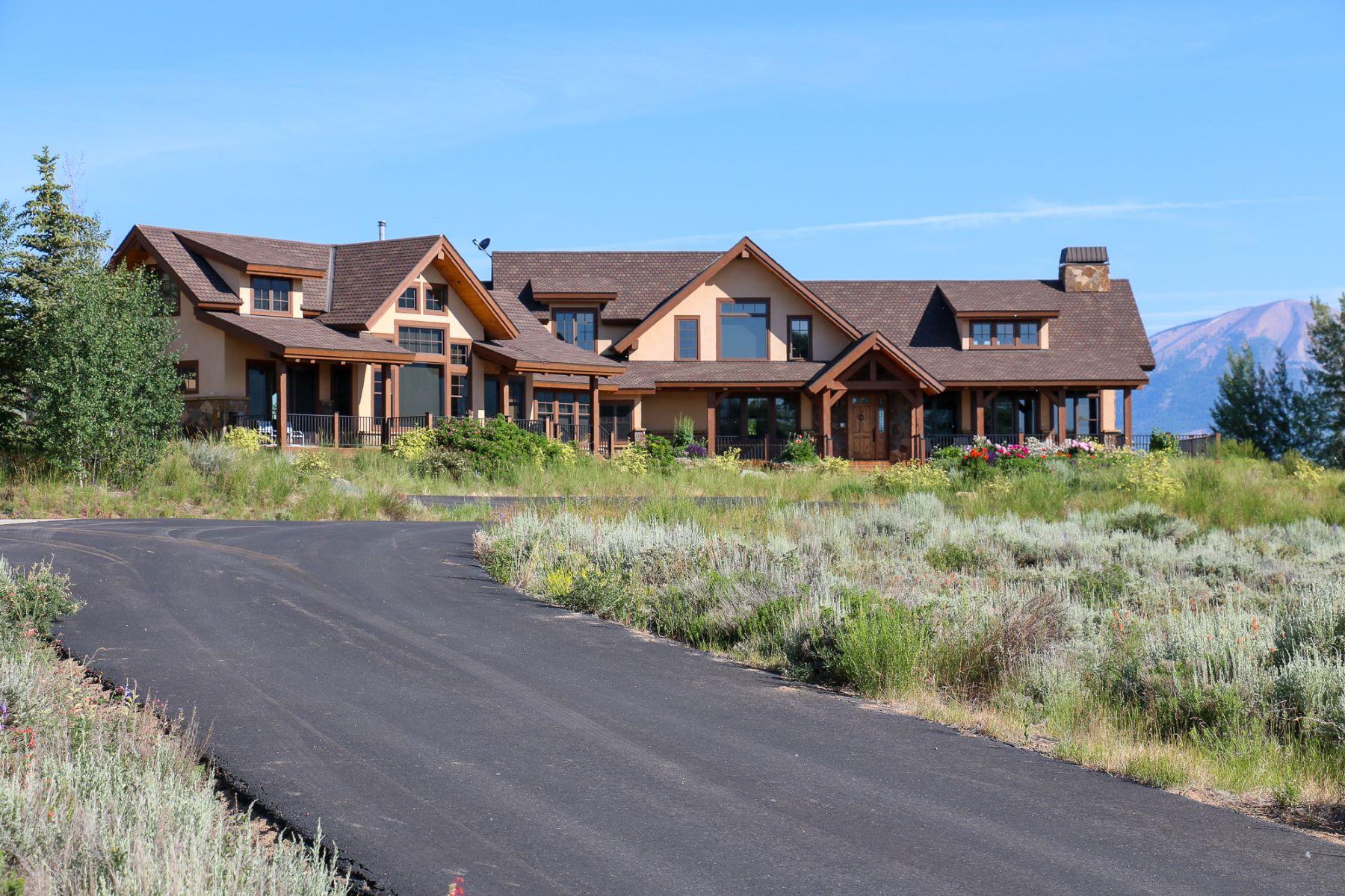 Ferme / Ranch / Plantation pour l Vente à Eagle Ridge Ranch 509 Eagle Meadow Drive Gunnison, Colorado, 81230 États-Unis