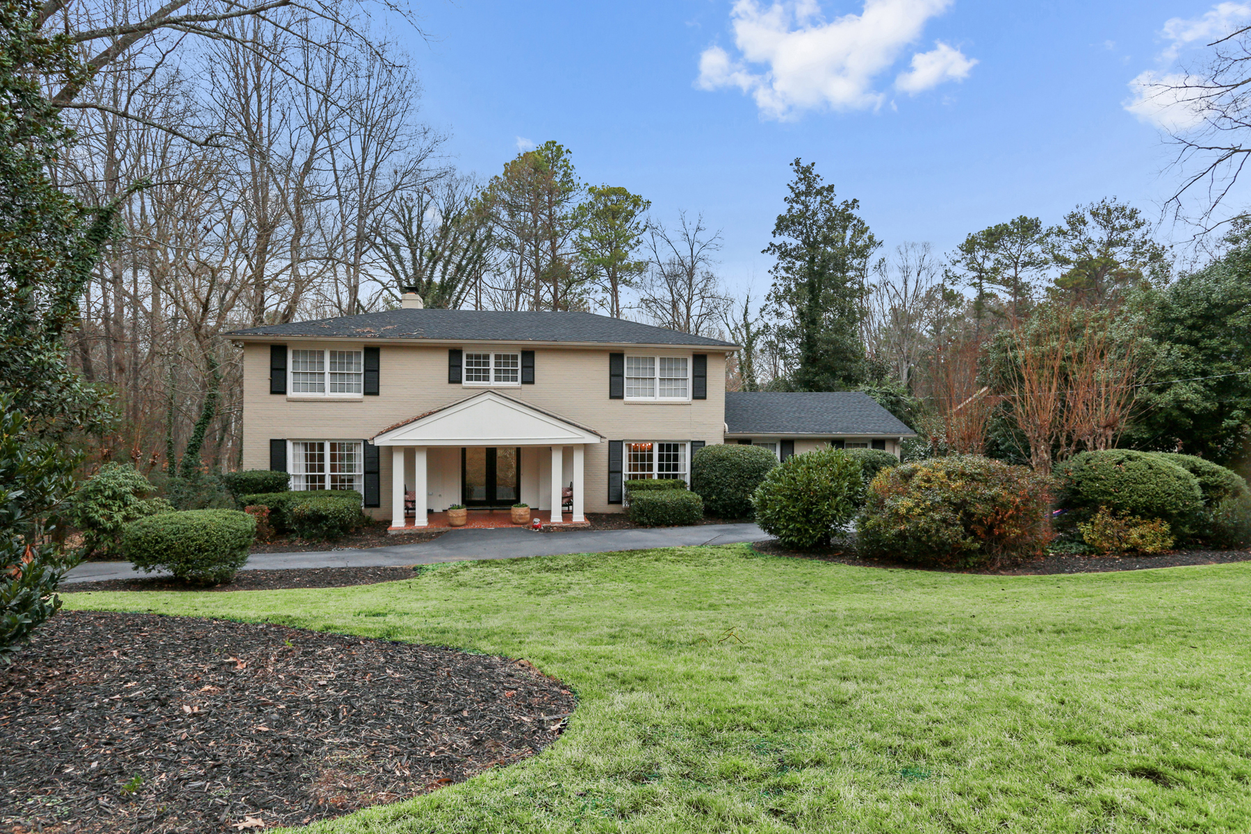 Single Family Home for Sale at Traditional Brick Home In Morris Brandon School District 2824 Ridge Valley Rd Atlanta, Georgia, 30327 United States