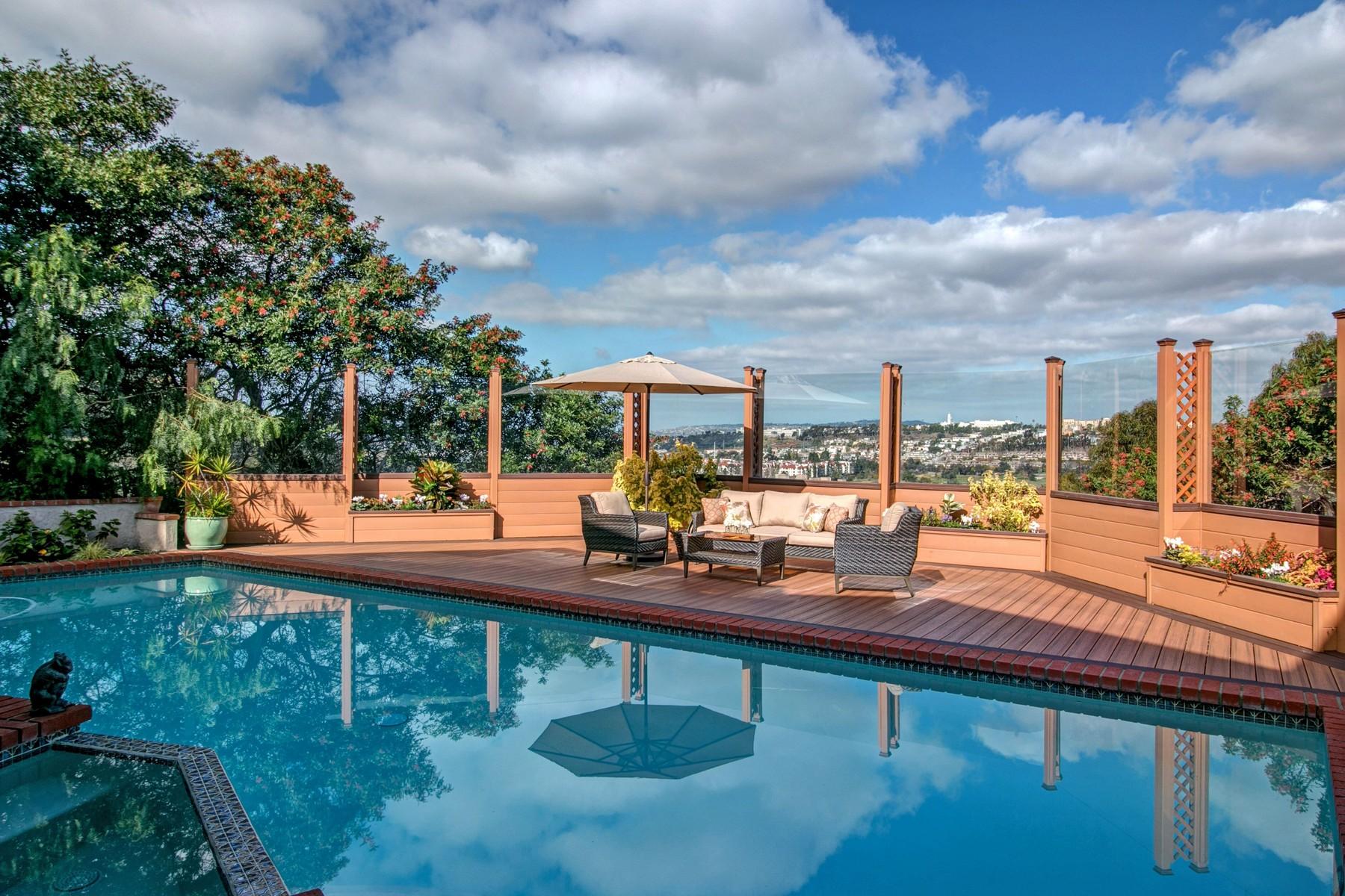 단독 가정 주택 용 매매 에 4460 Teralta Place Mission Hills, San Diego, 캘리포니아, 92103 미국