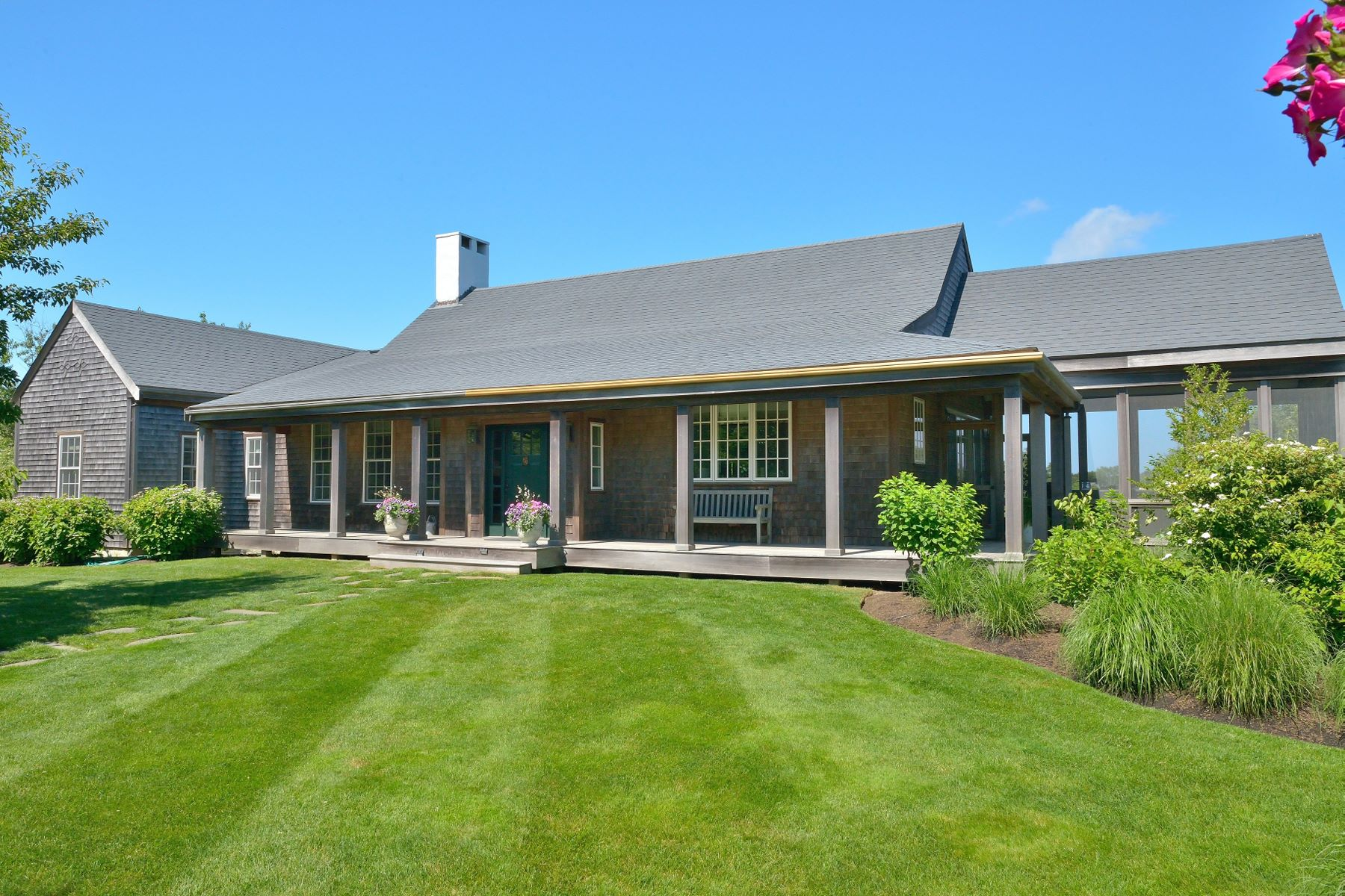 Single Family Home for Sale at Private Family Compound 41 Millbrook Road Nantucket, Massachusetts, 02554 United States